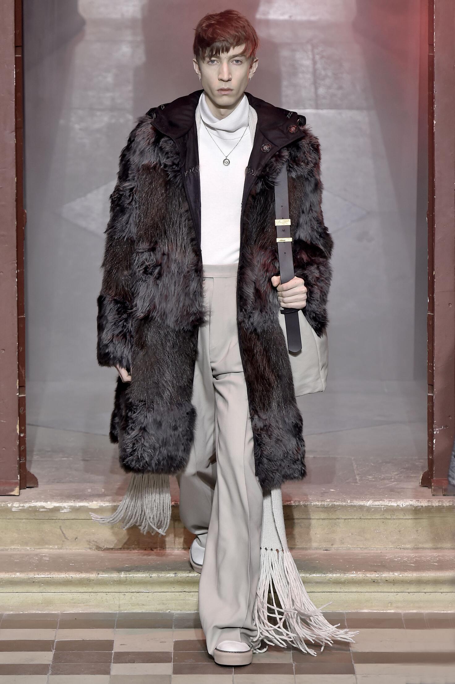 Lanvin Fall Winter 2015 16 Men's Collection Paris Fashion Week Fashion Show