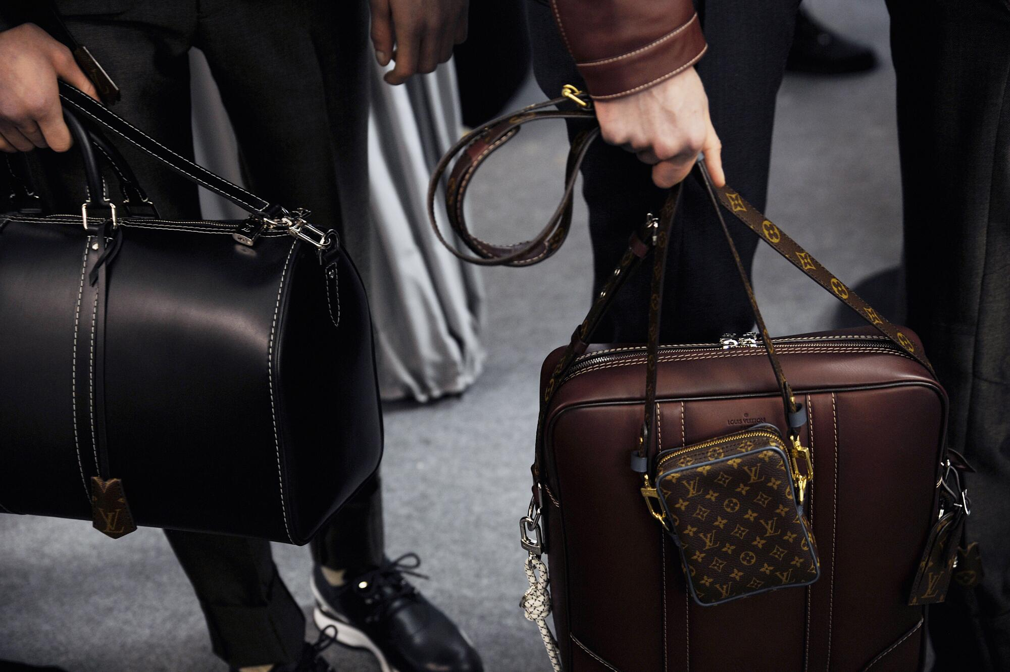 Louis Vuitton Backstage 2015 Bags