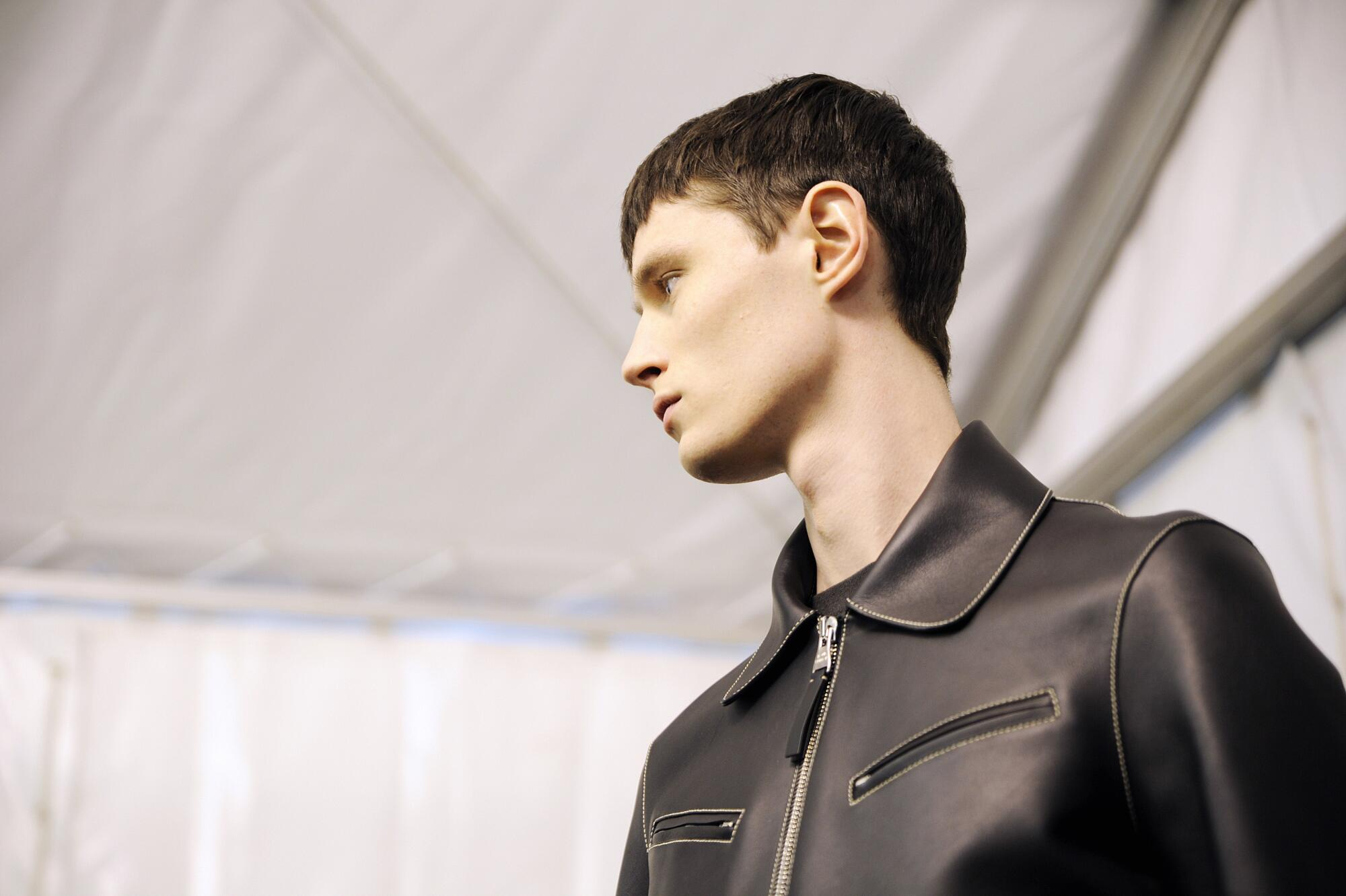 Louis Vuitton FW 2015 Menswear Backstage Paris