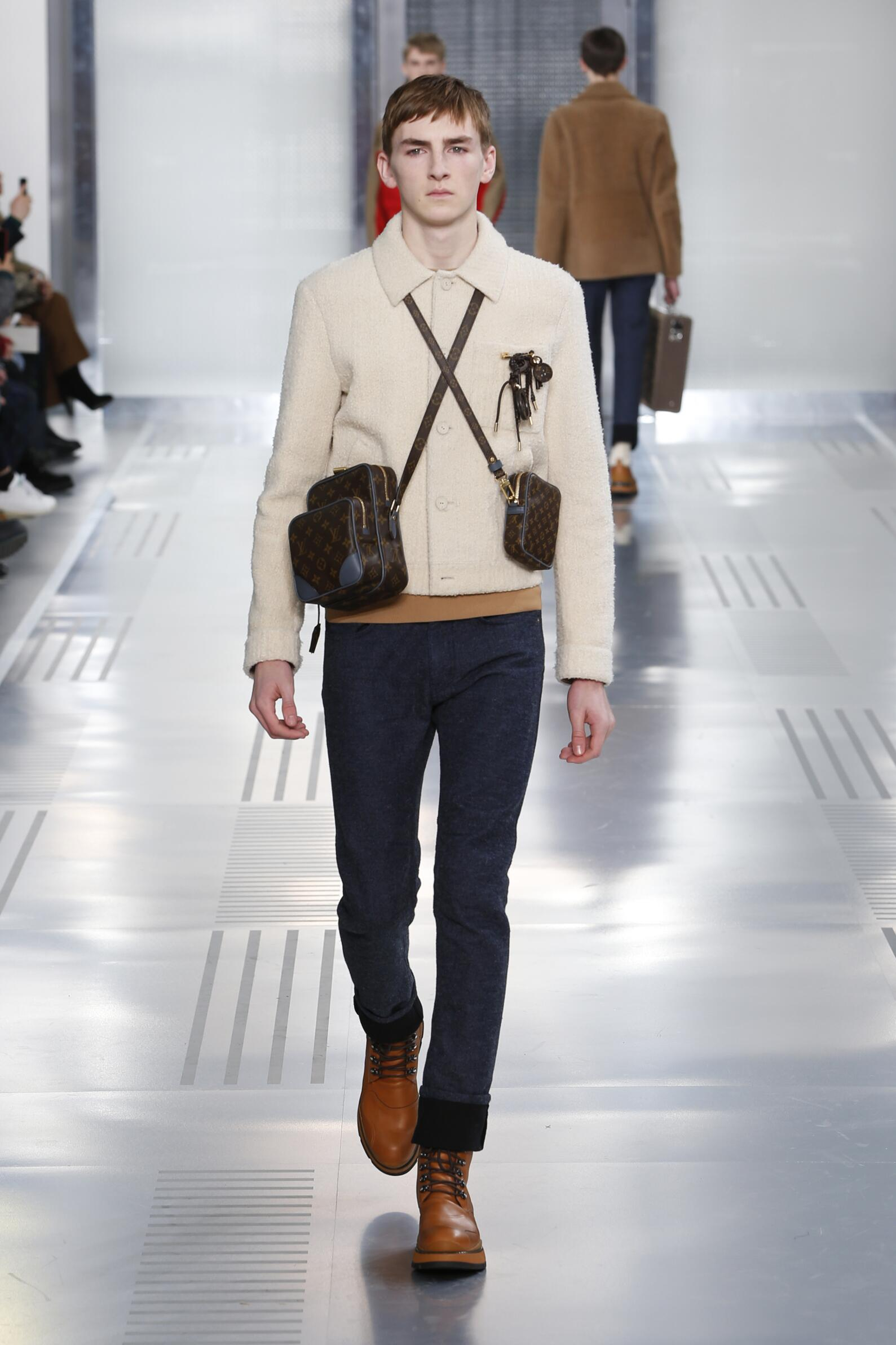 Louis Vuitton Fall Winter 2015 16 Men's Collection Paris Fashion Week Fashion Show
