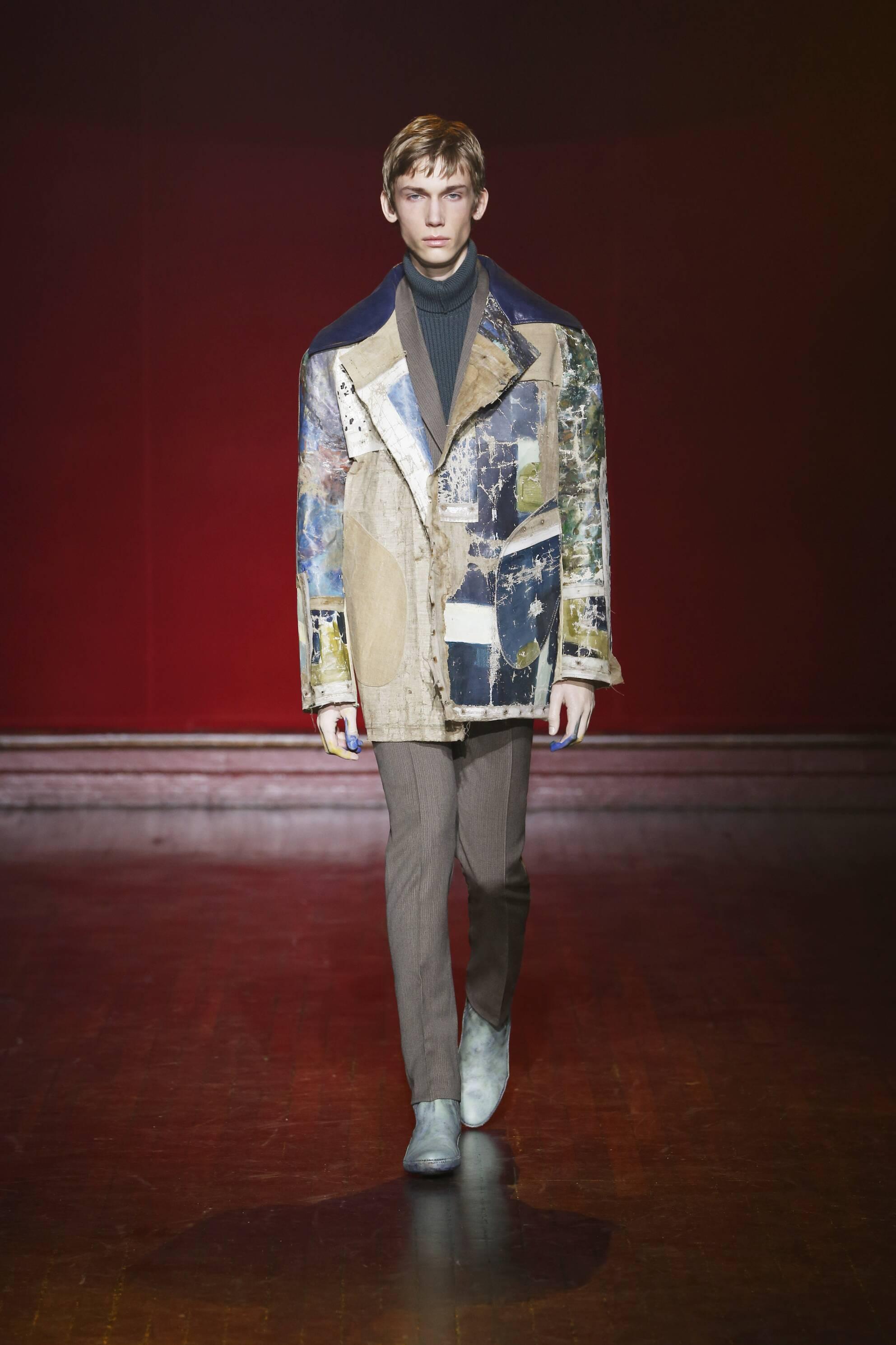 Maison Margiela Collection Paris Fashion Week Menswear