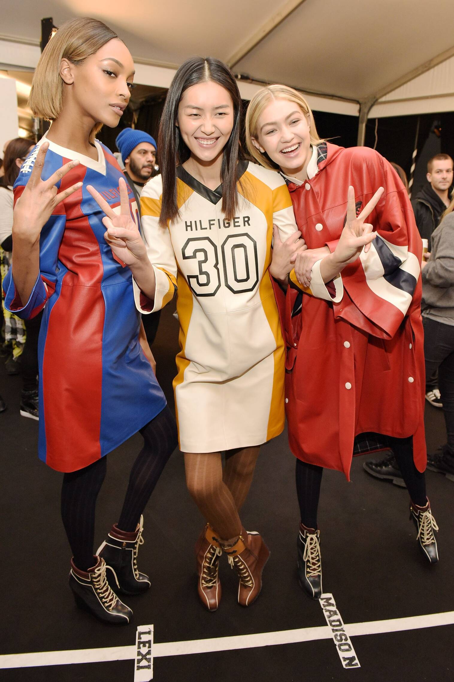 Models Trends 2015 Backstage Tommy Hilfiger