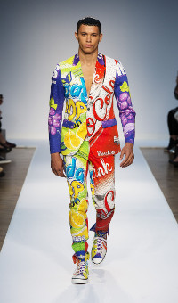 MOSCHINO SPRING SUMMER 2015 MEN'S COLLECTION – LONDON FASHION WEEK
