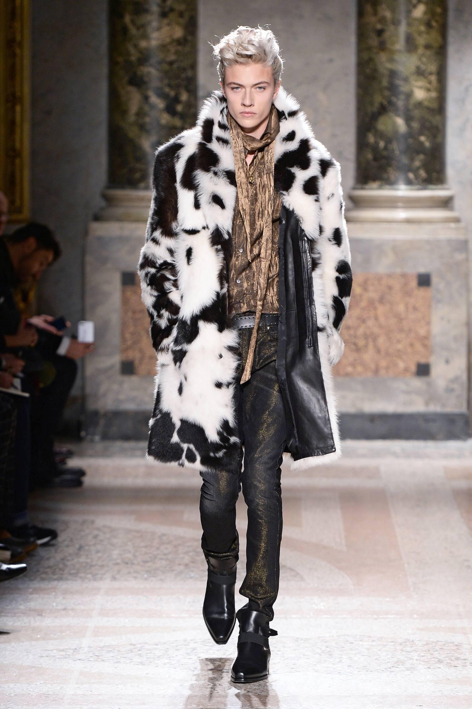 Roberto Cavalli Collection Man Milano Fashion Week