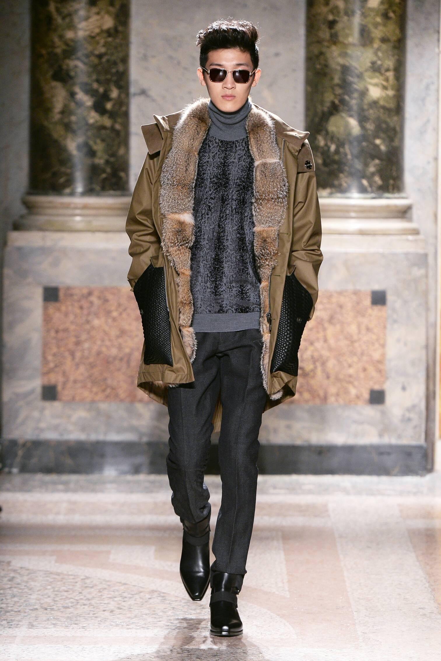 Roberto Cavalli Collection Milano Fashion Week Menswear