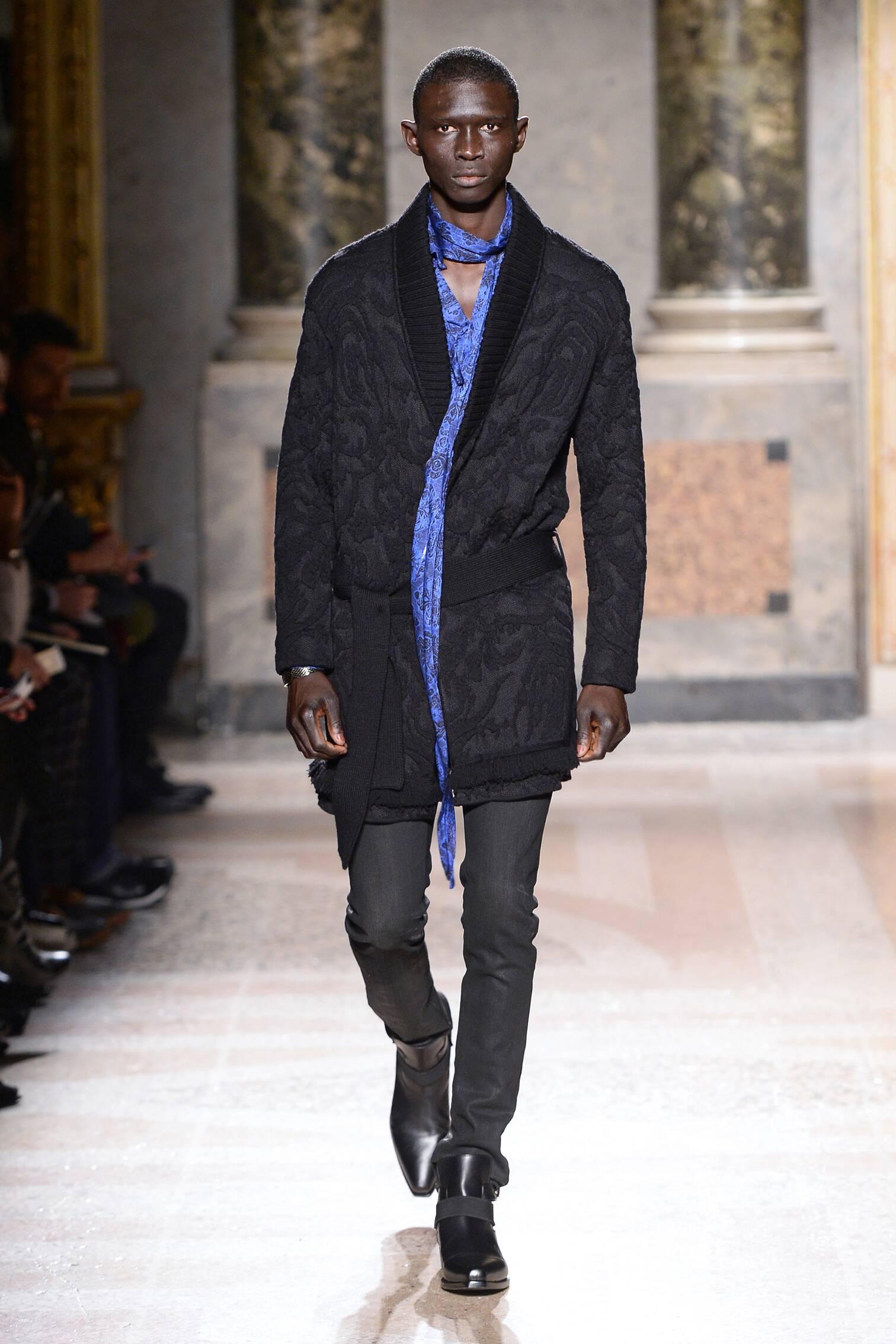 Roberto Cavalli Fall Winter 2015 16 Men's Collection Milan Fashion Week Fashion Show