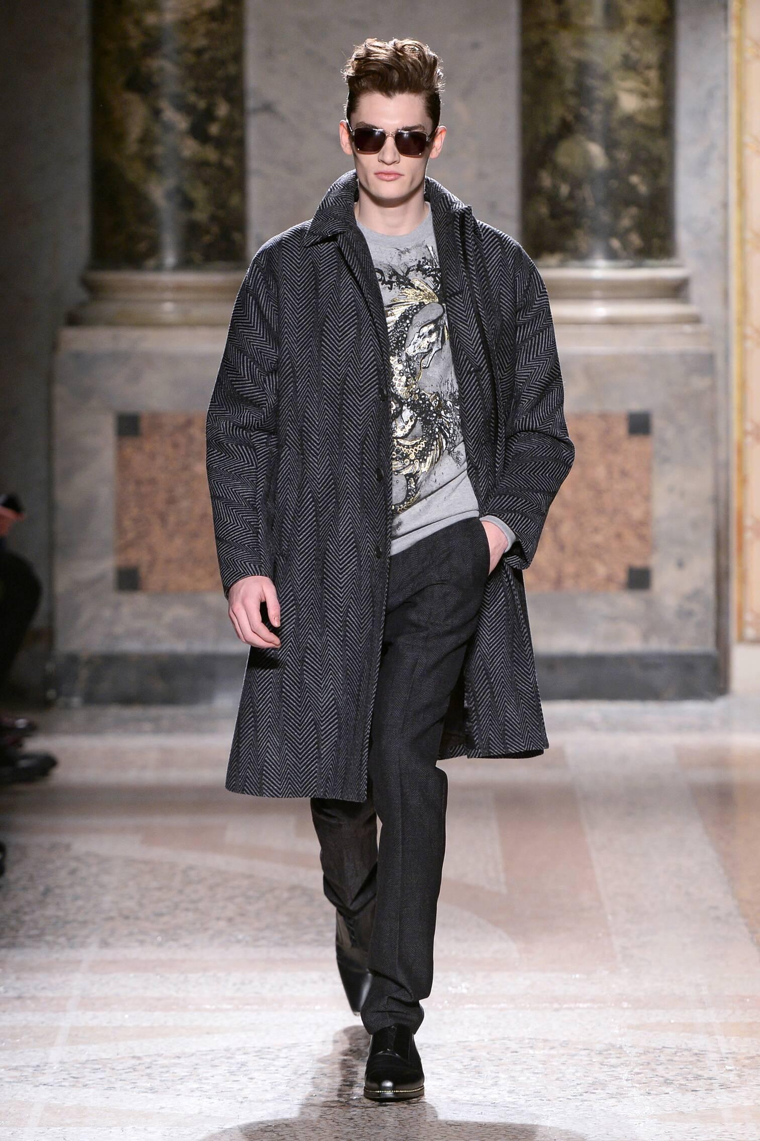 Roberto Cavalli Fall Winter 2015 16 Mens Collection Milano Fashion Week