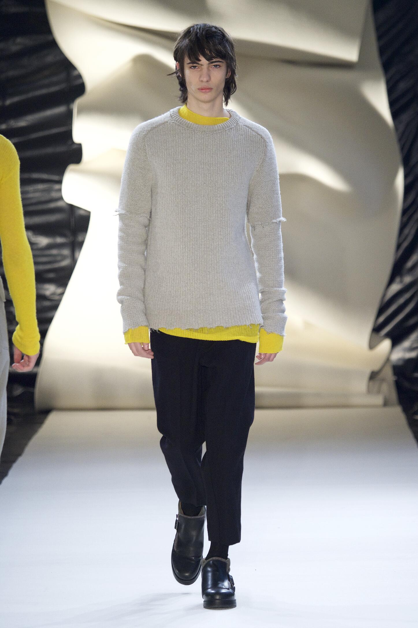 Runway Damir Doma Fall Winter 2015 16 Men's Collection Paris Fashion Week