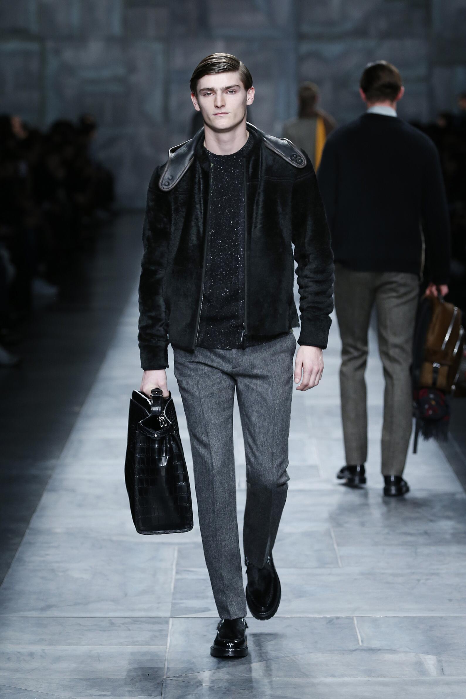 Runway Fendi Fall Winter 2015 16 Men's Collection Milan Fashion Week