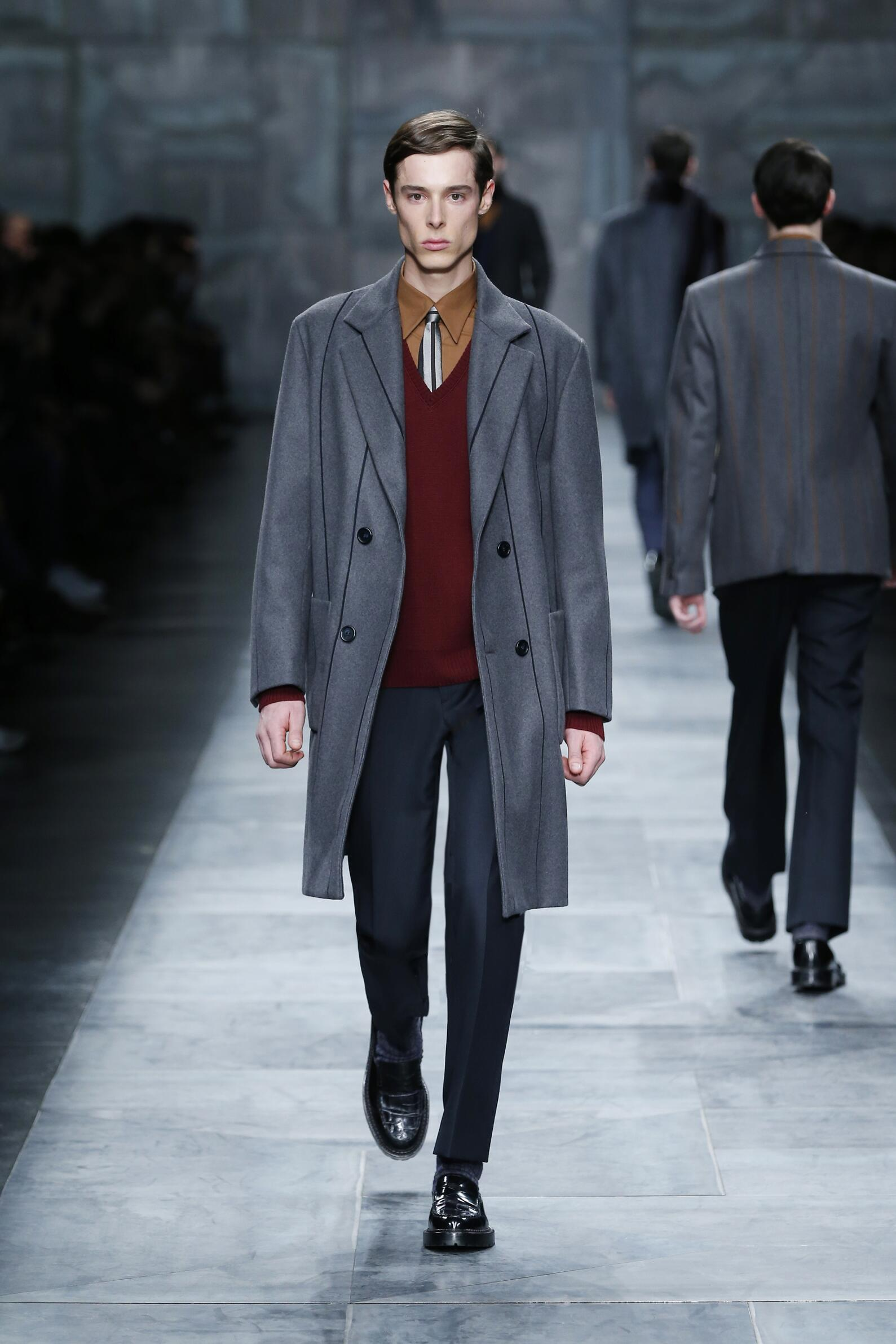 Runway Fendi Fall Winter 2015 16 Men's Collection Milano Fashion Week