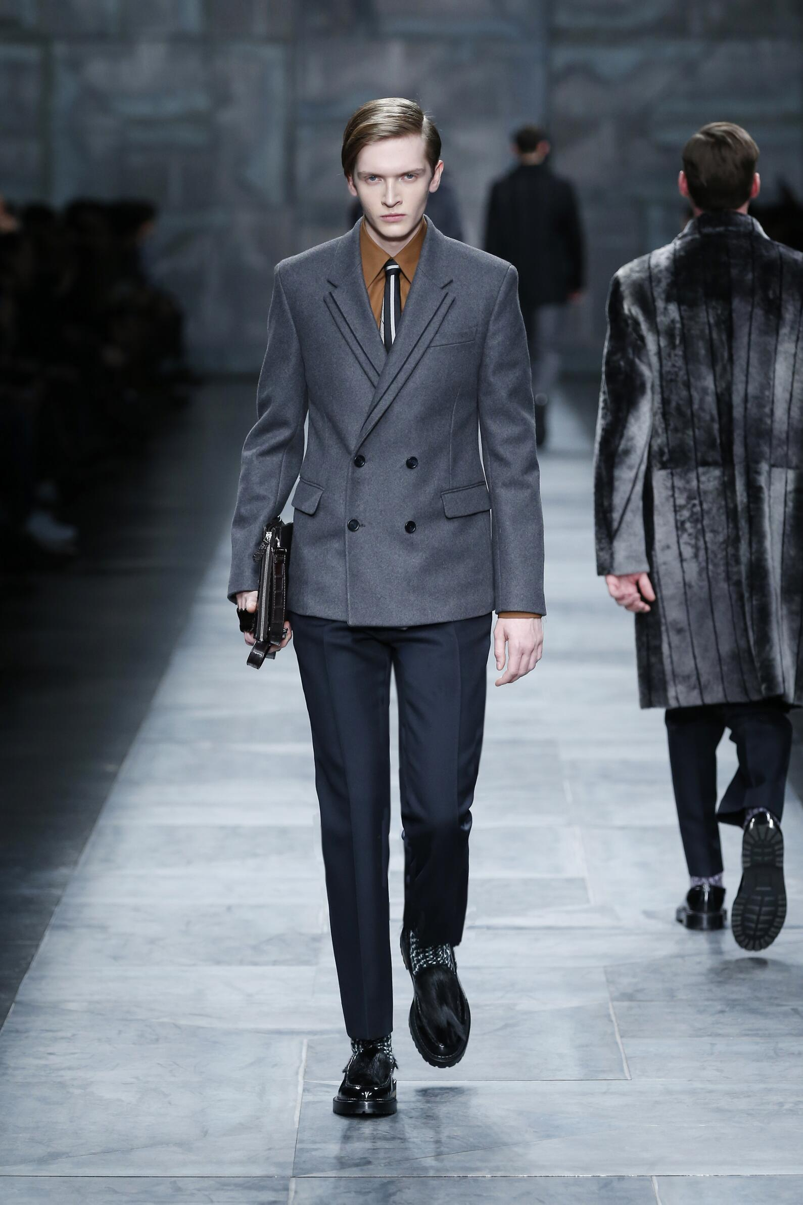 Runway Fendi Fashion Show Winter 2015
