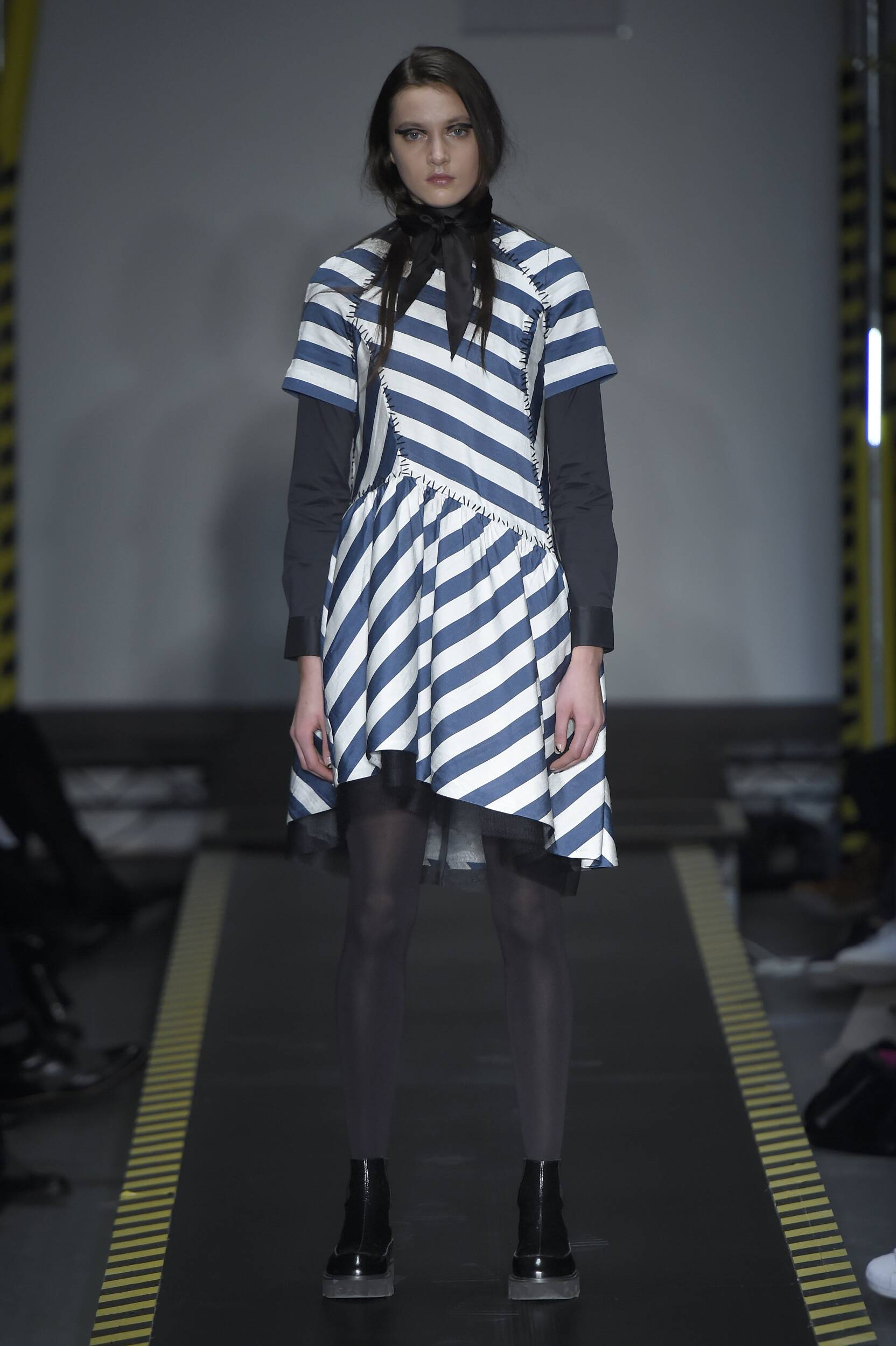 Runway House of Holland Fall Winter 2015 16 Women's Collection London Fashion Week