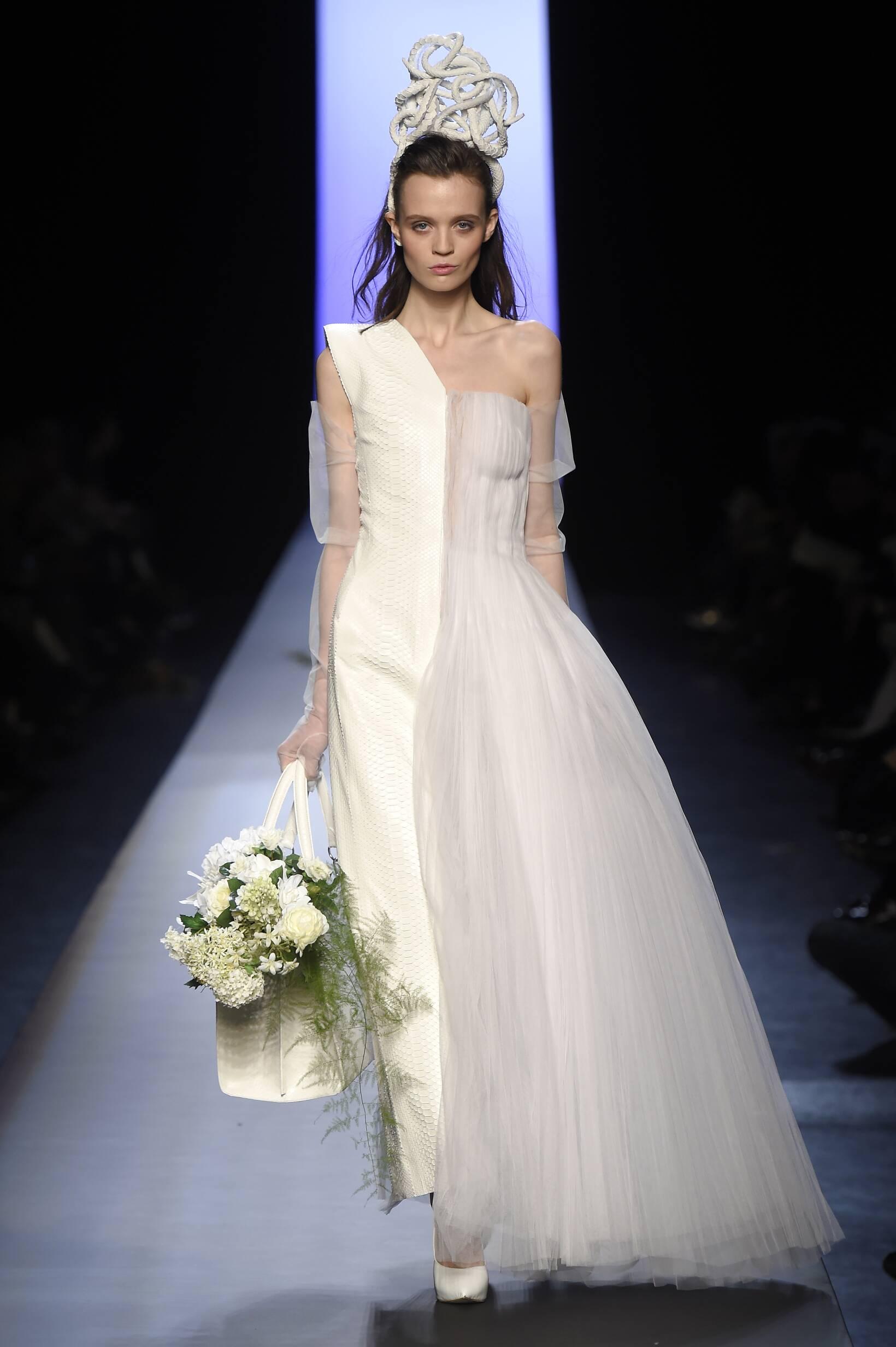 Runway Jean Paul Gaultier Haute Couture Fashion Show Summer 2015