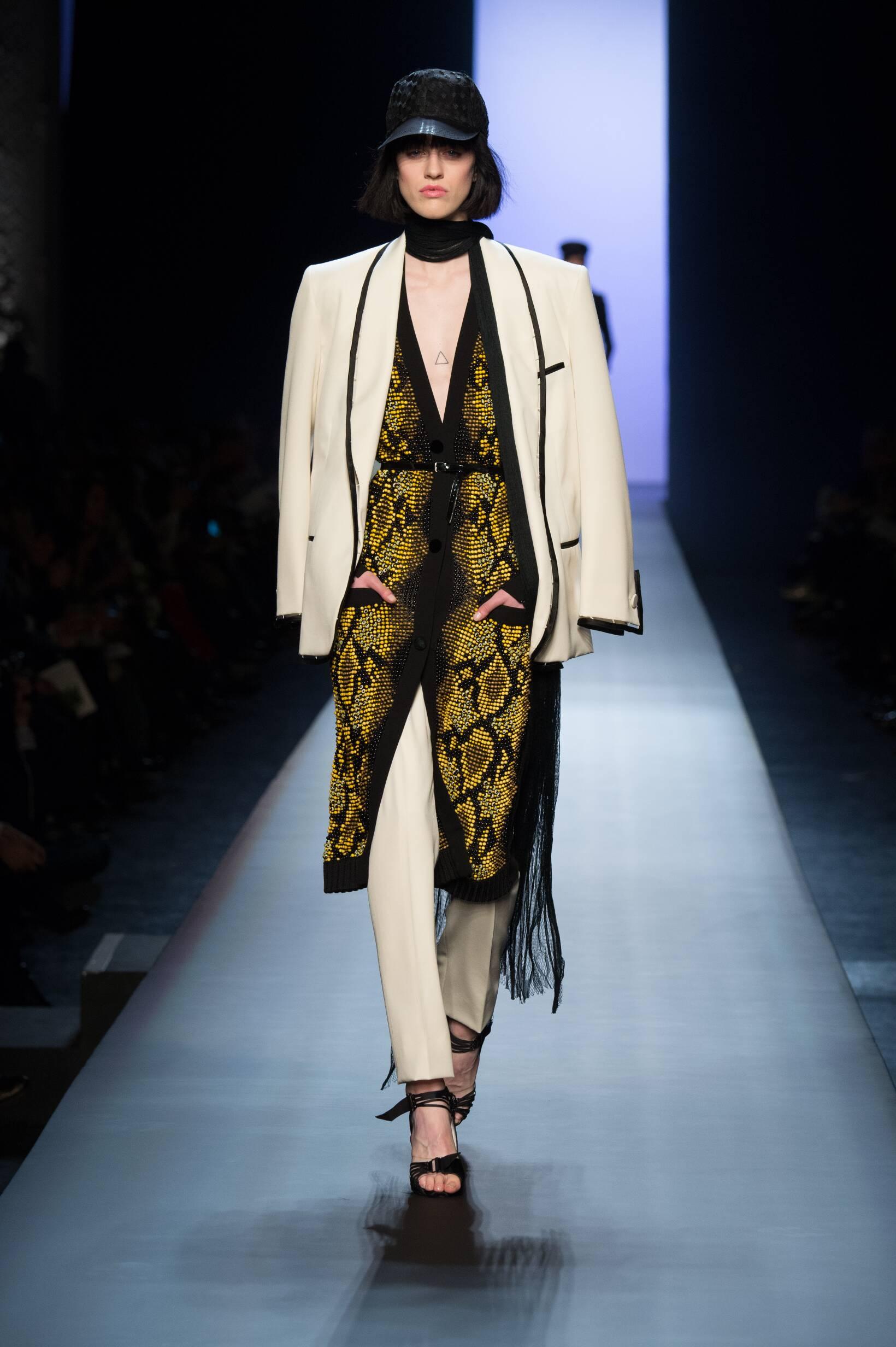 Runway Jean Paul Gaultier Haute Couture Spring Summer 2015 Women's Collection Paris Fashion Week