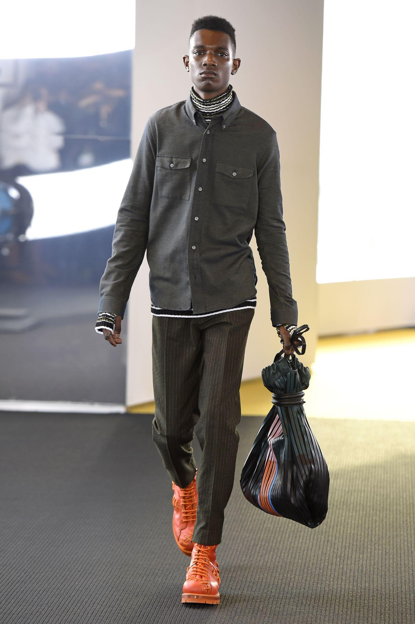 Runway Kenzo Fall Winter 2015 16 Men's Collection Paris Fashion Week