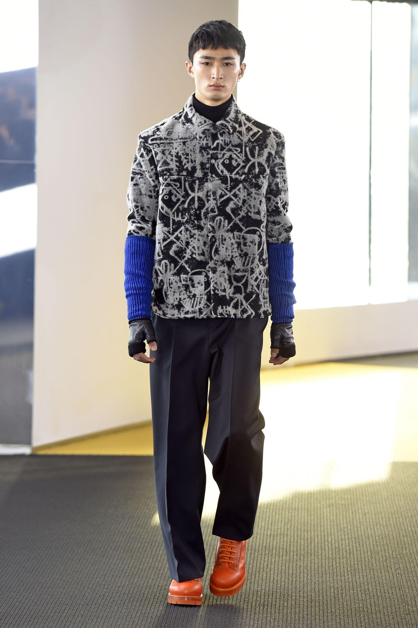 Runway Kenzo Fashion Show Winter 2015