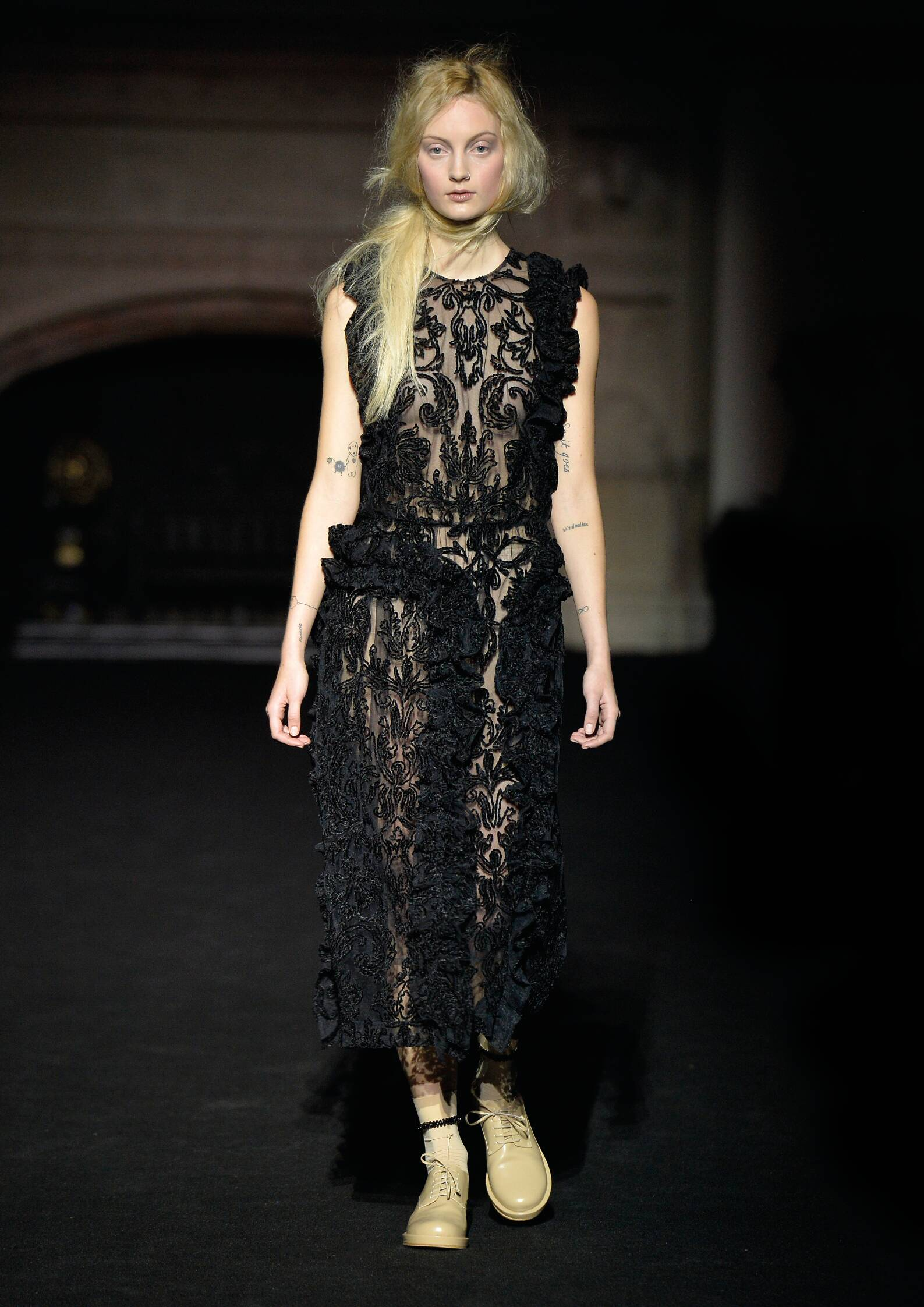 Runway Simone Rocha Fall Winter 2015 16 Women's Collection London Fashion Week