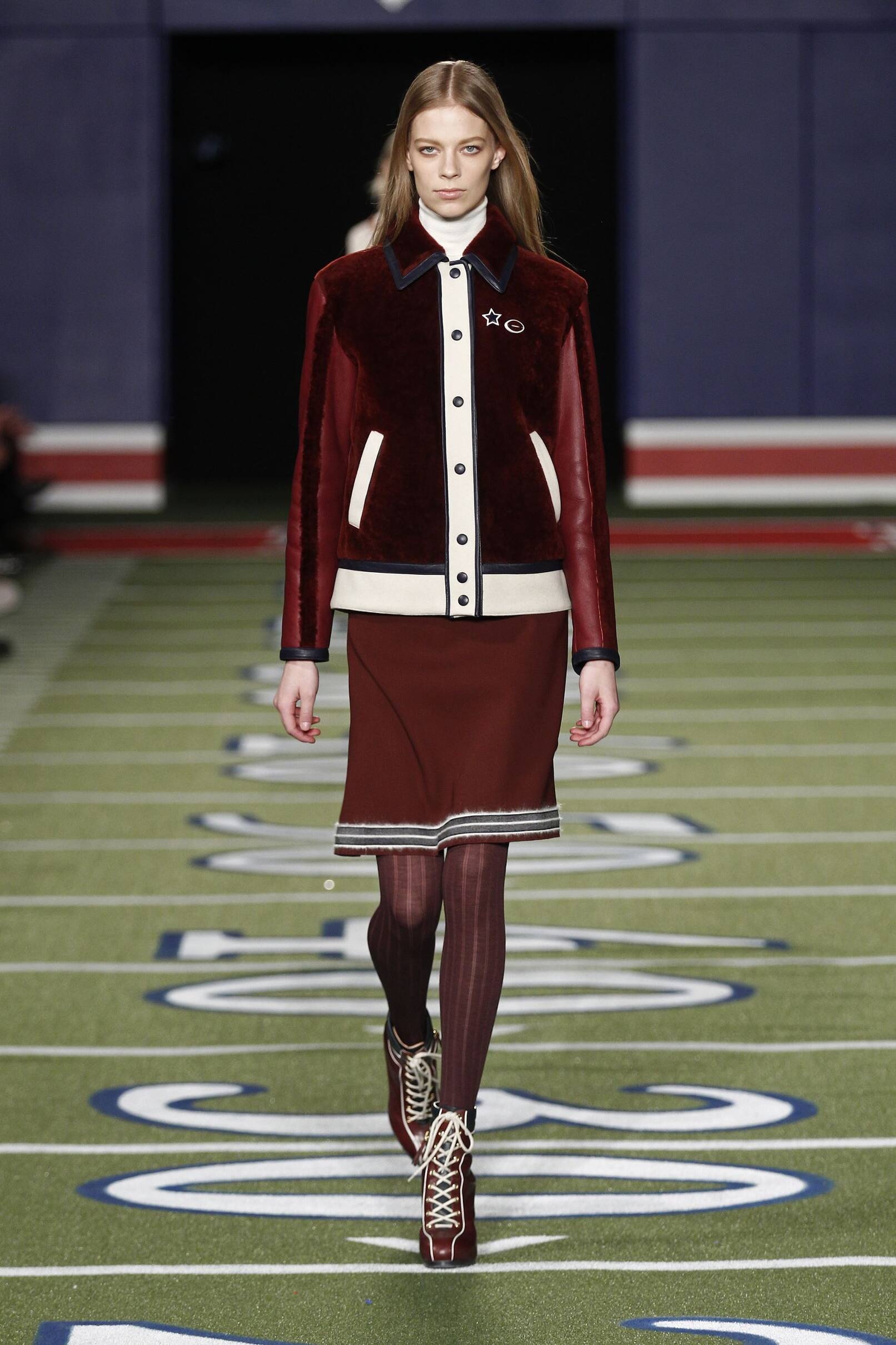 Runway Tommy Hilfiger Fall Winter 2015 16 Women's Collection New York Fashion Week