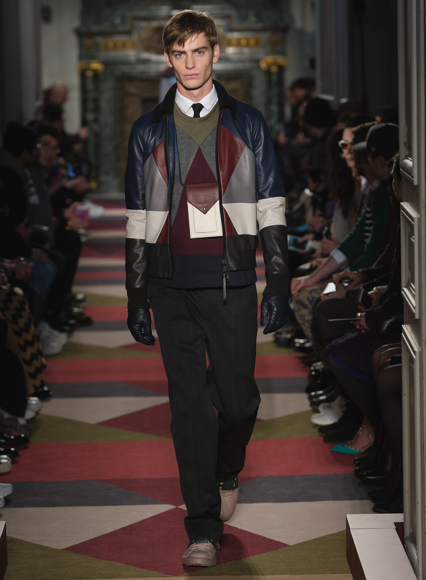 Runway Valentino Fall Winter 2015 16 Men's Collection Paris Fashion Week