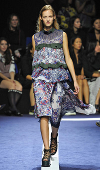 SACAI SPRING SUMMER 2015 WOMEN'S COLLECTION – PARIS FASHION WEEK