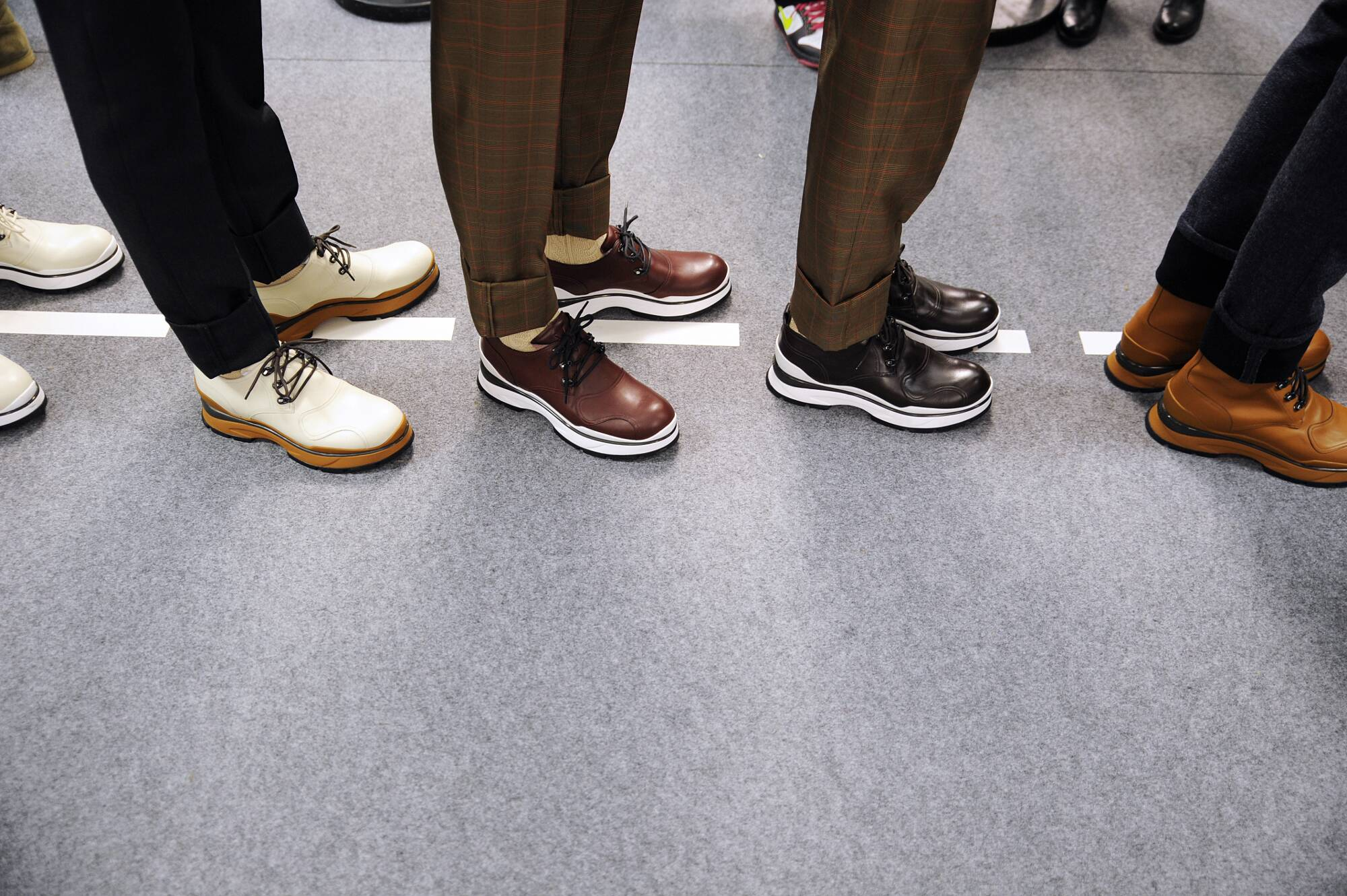 Shoes Style Backstage Louis Vuitton