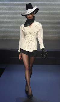 JEAN PAUL GAULTIER SPRING SUMMER 2015 WOMEN'S COLLECTION – PARIS FASHION WEEK