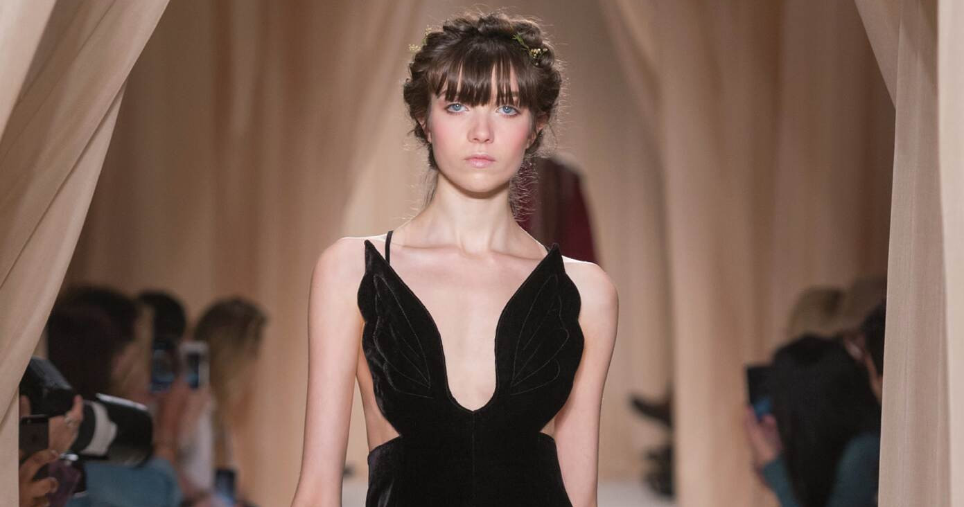 Spring Fashion Woman Valentino Haute Couture Collection 2015