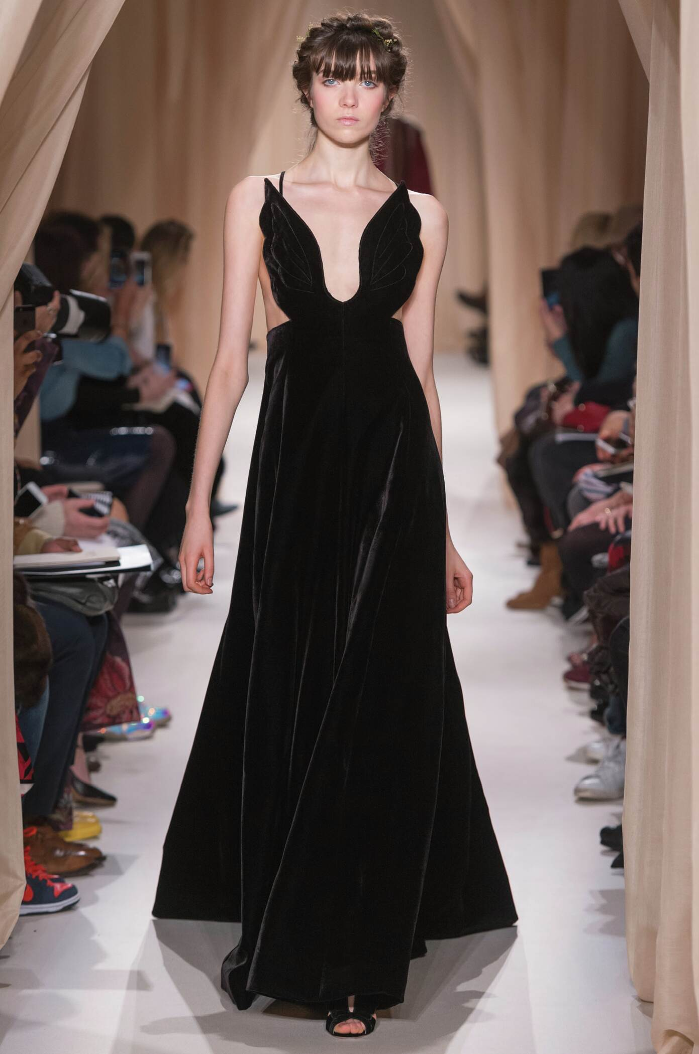 Spring Fashion Woman Valentino Haute Couture Collection