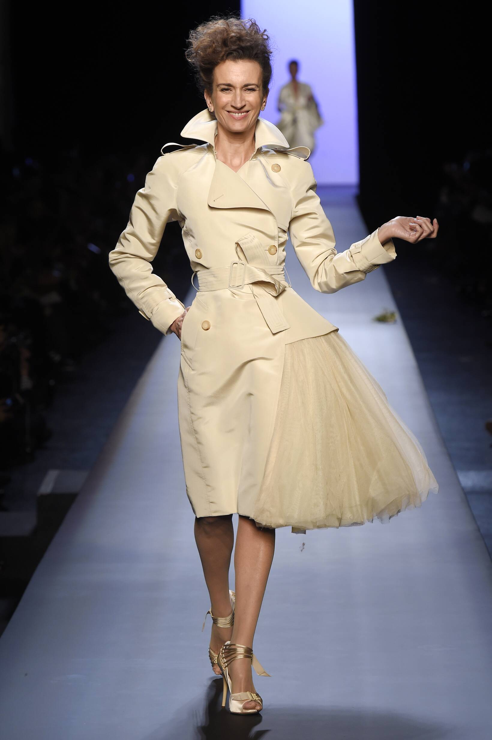 Spring Jean Paul Gaultier Haute Couture Collection Fashion Women Model