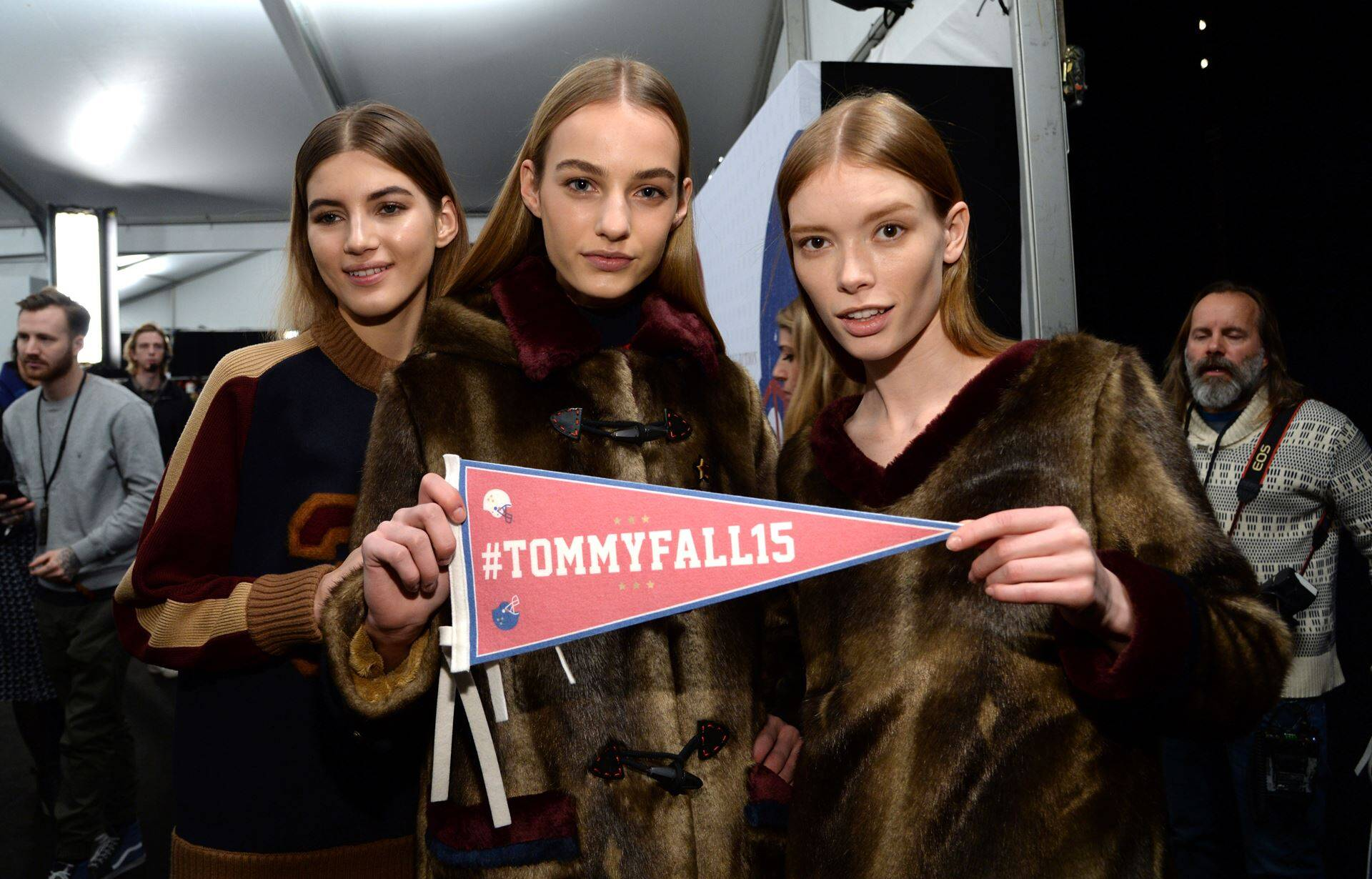 Tommy Hilfiger Backstage Women Models