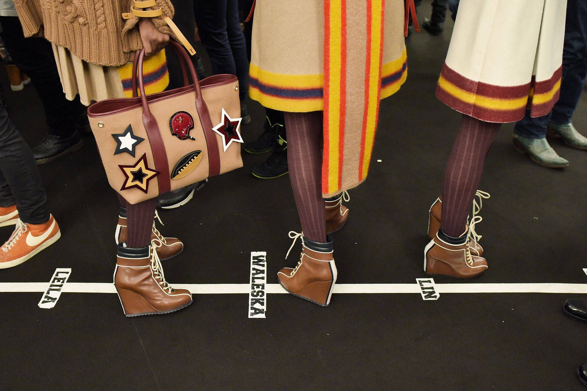 Tommy Hilfiger FW 2015 Womenswear Backstage