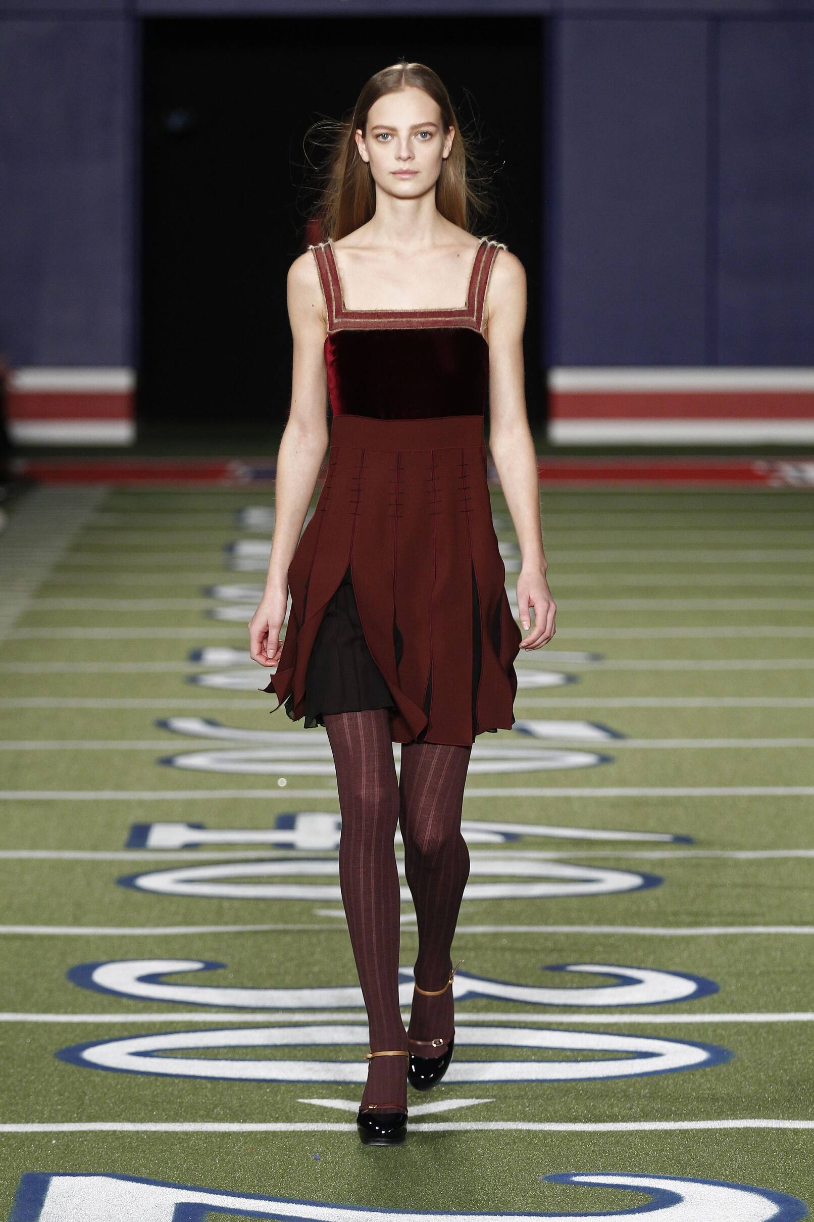 Tommy Hilfiger Fall Winter 2015 16 Women's Collection New York Fashion Week Fashion Show