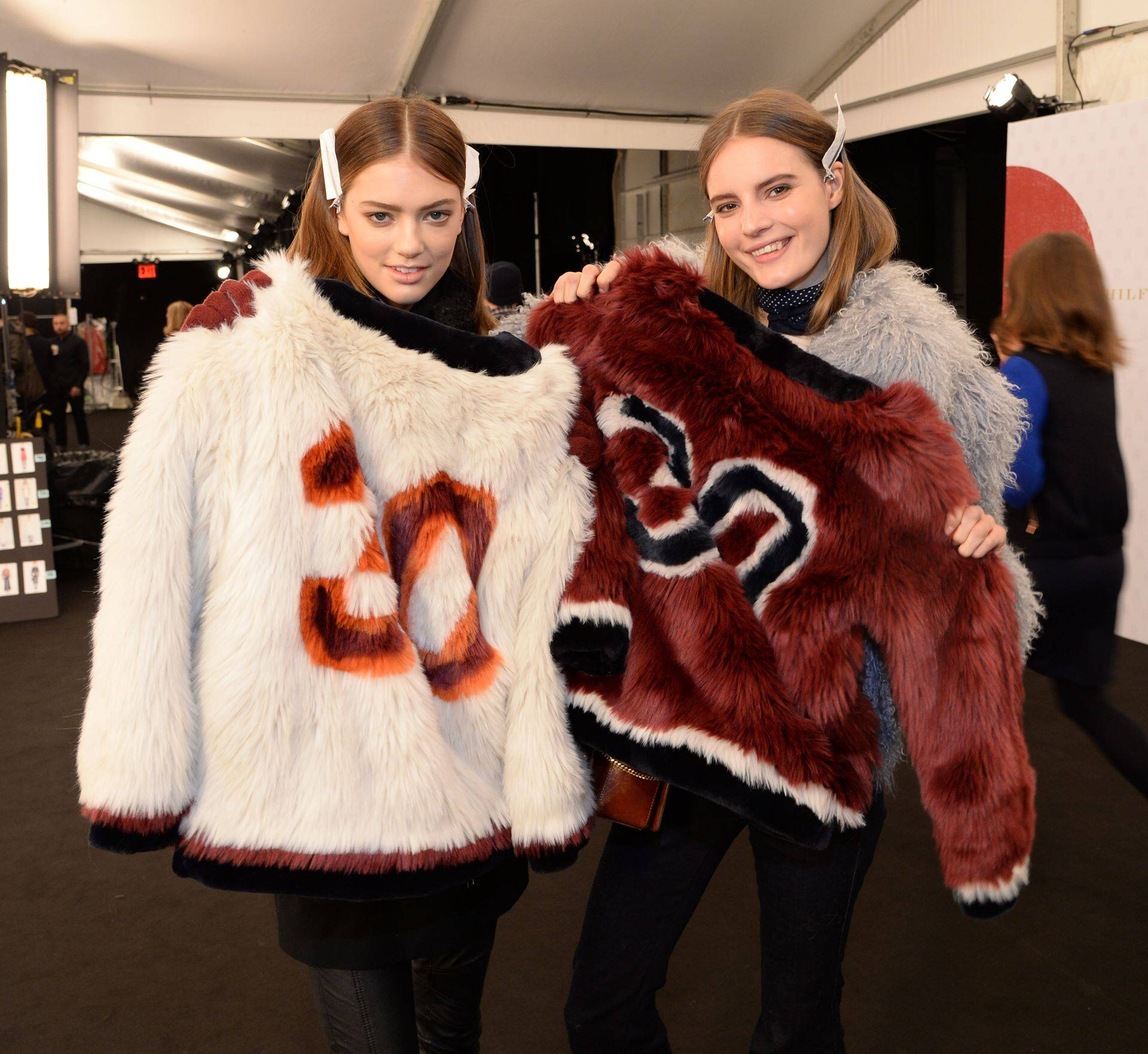 Tommy Hilfiger Fashion Backstage FW 2015