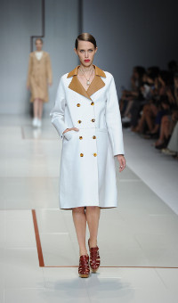 TRUSSARDI SPRING SUMMER 2015 WOMEN'S COLLECTION – MILANO FASHION WEEK