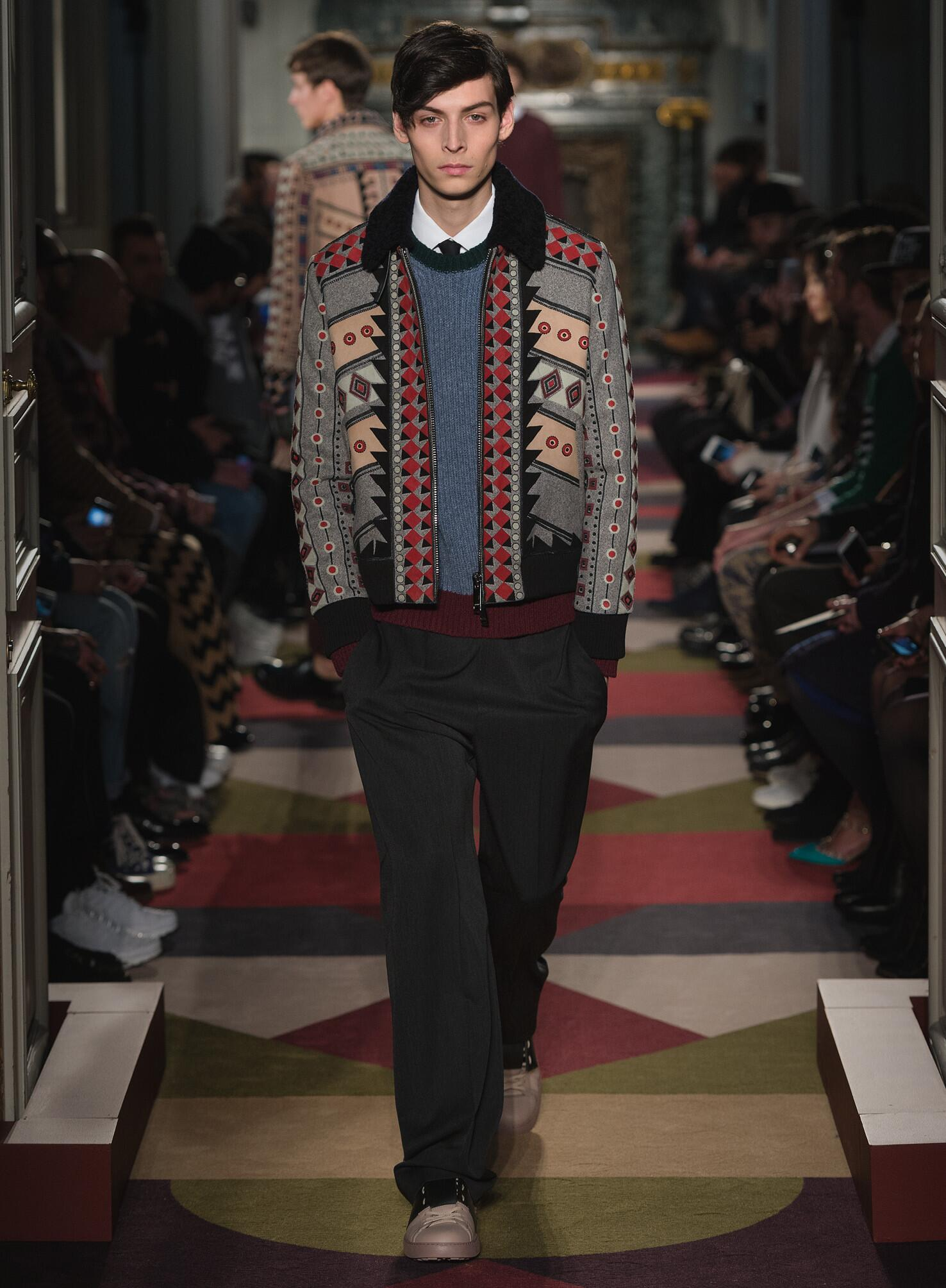 Valentino Collection Men's FW 2015 16 Fashion Show