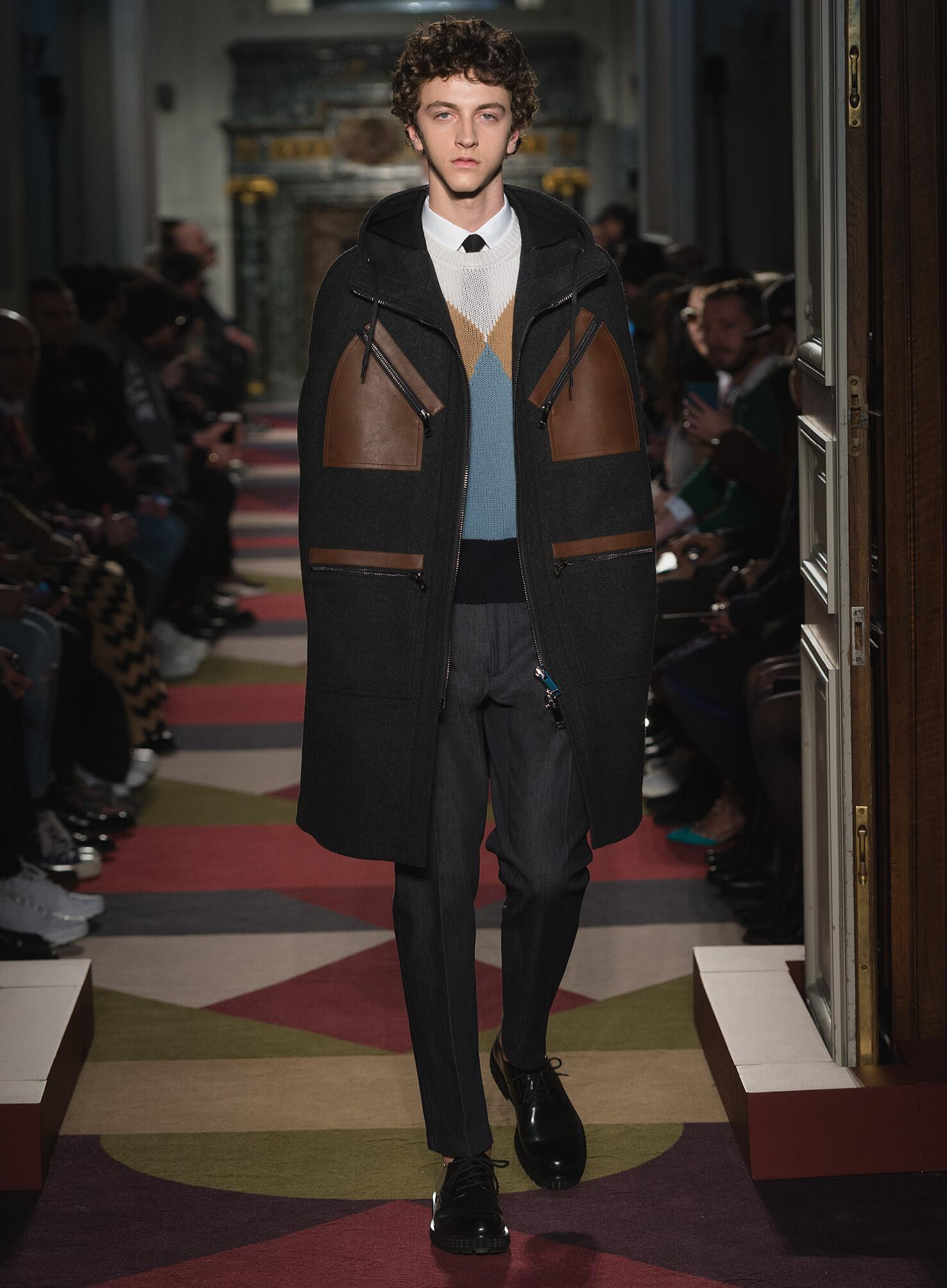 Valentino Collection Paris Fashion Week Menswear
