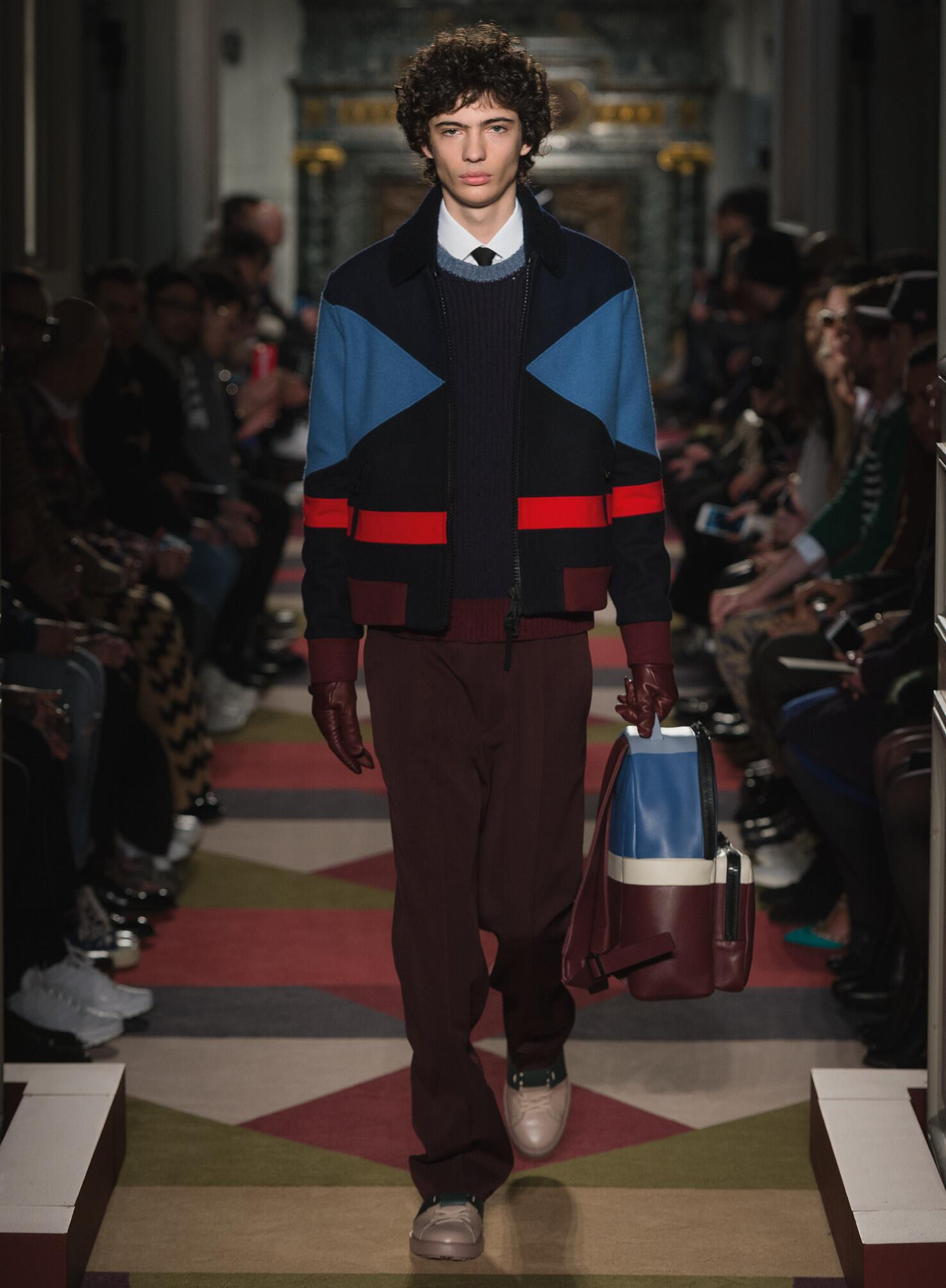 Valentino Fall Winter 2015 16 Men's Collection Paris Fashion Week Fashion Show