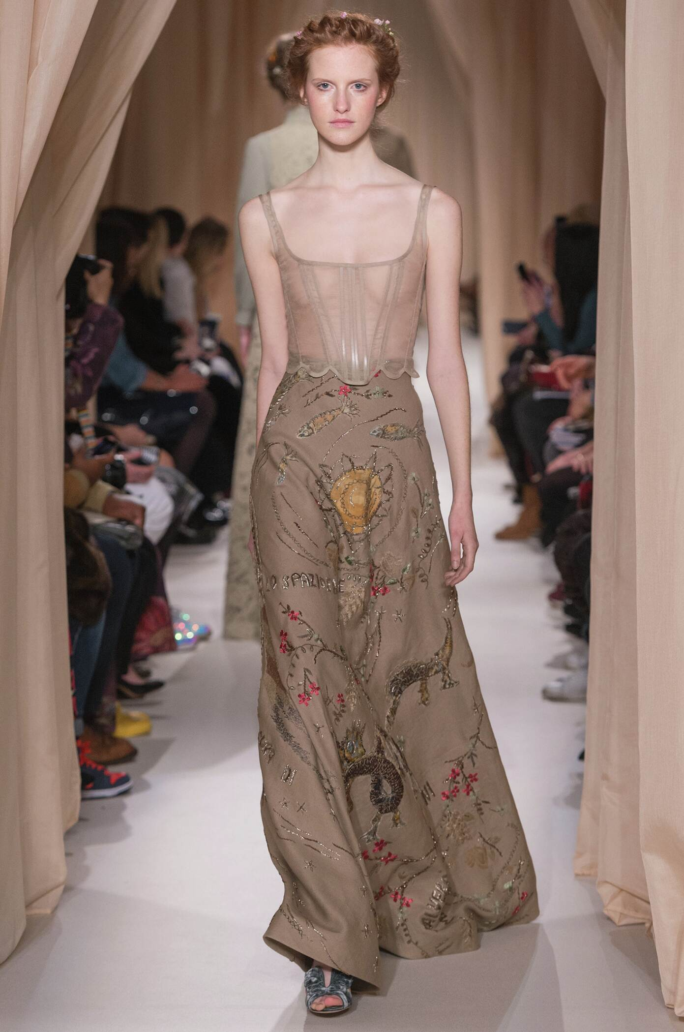 Valentino Haute Couture Collection Spring 2015 Catwalk