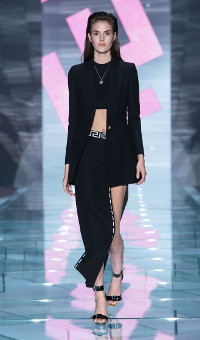 VERSACE SPRING SUMMER 2015 WOMEN'S COLLECTION – MILANO FASHION WEEK