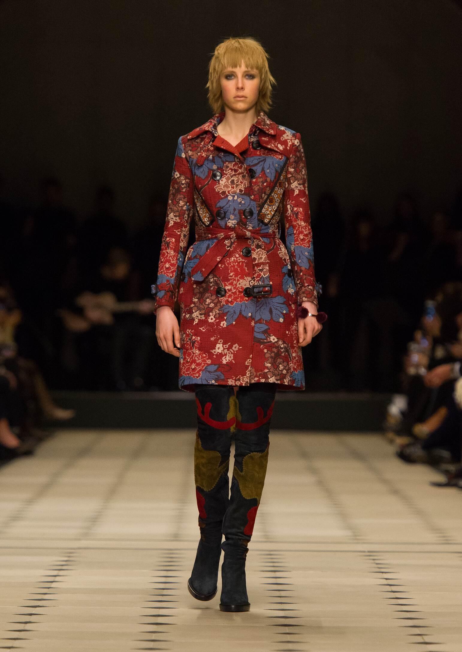 Winter 2015 Fashion Show Burberry Prorsum Collection
