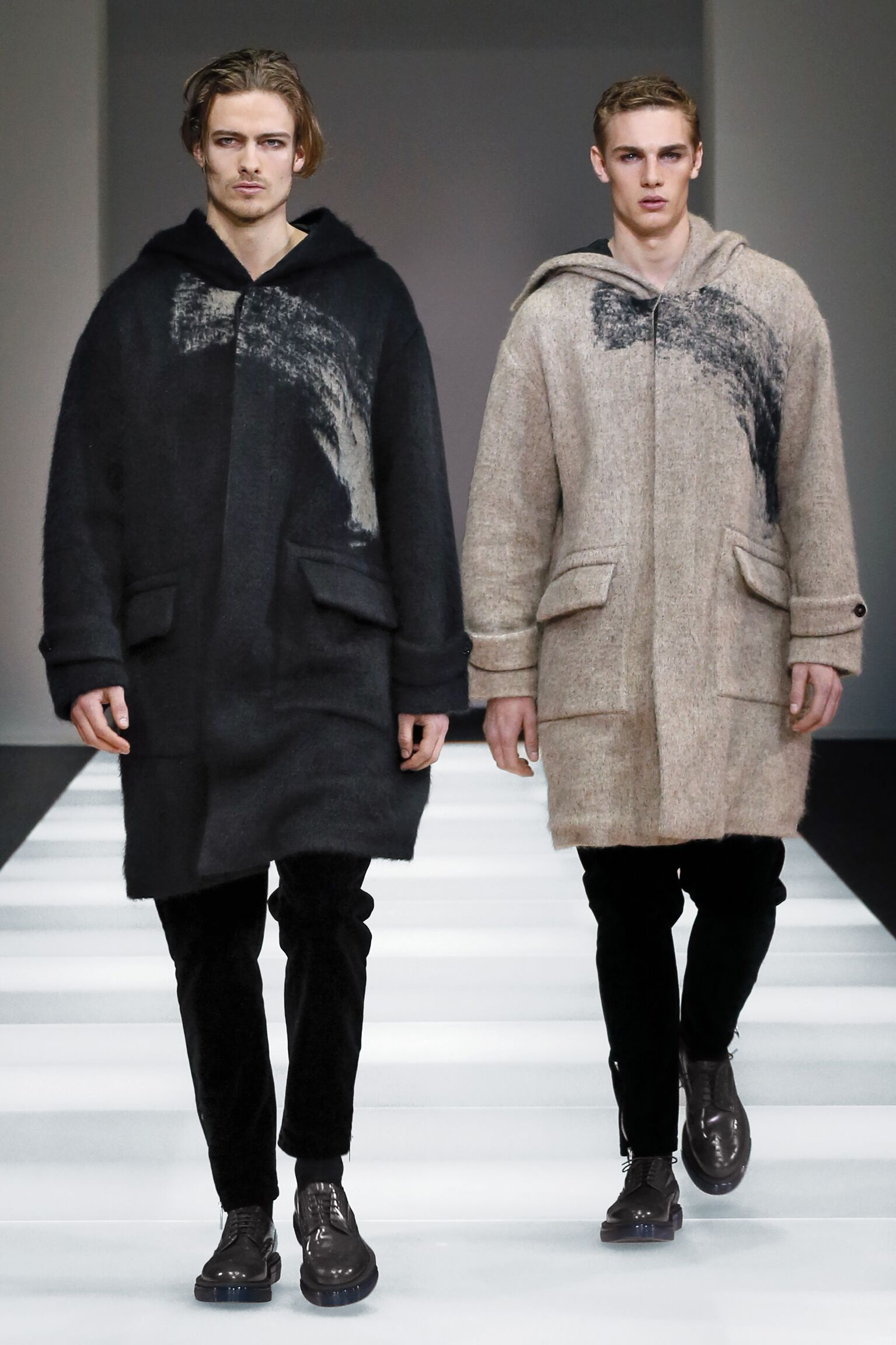 Winter 2015 Fashion Show Emporio Armani Collection