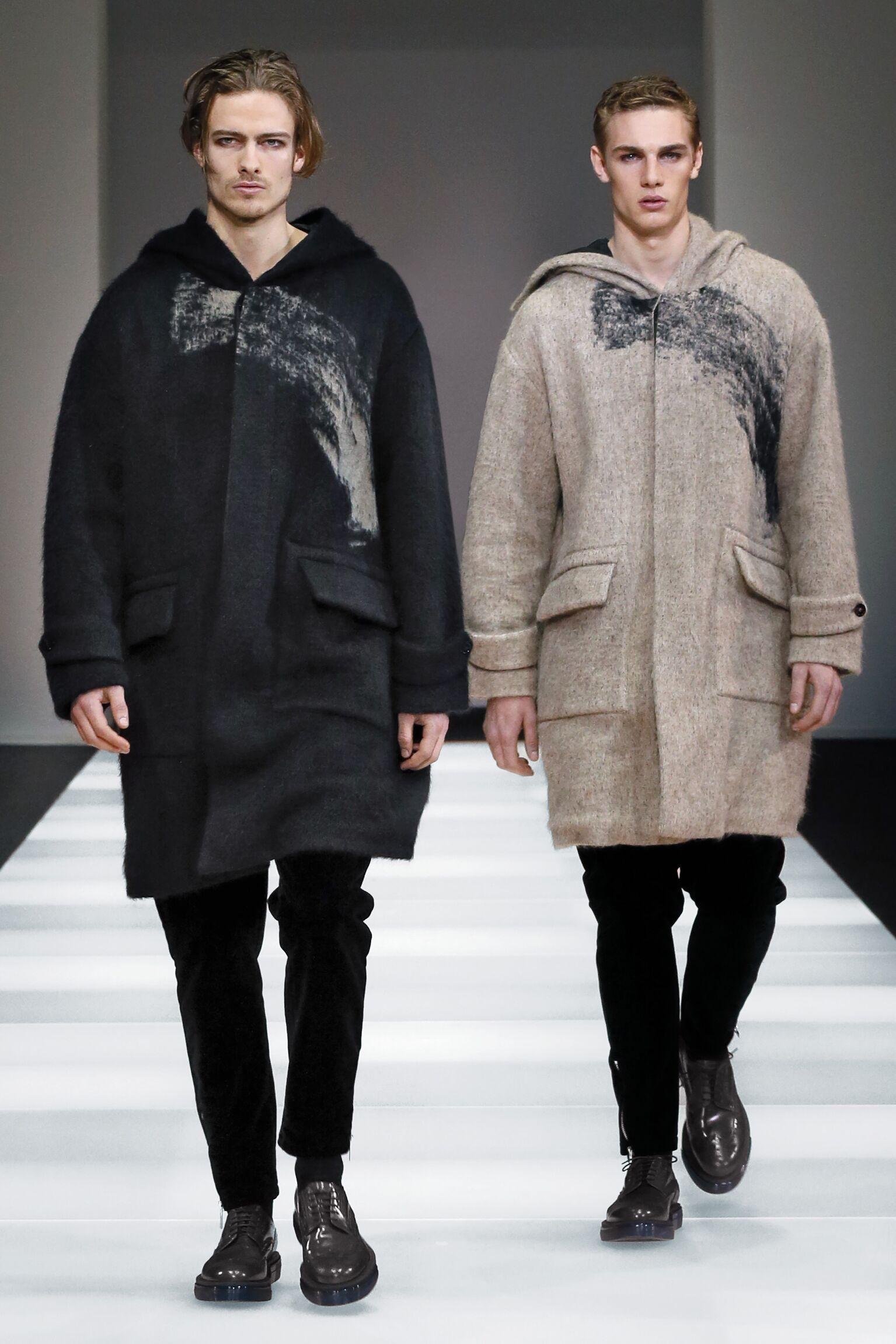 Winter 2015 Fashion Show Emporio Armani Collection
