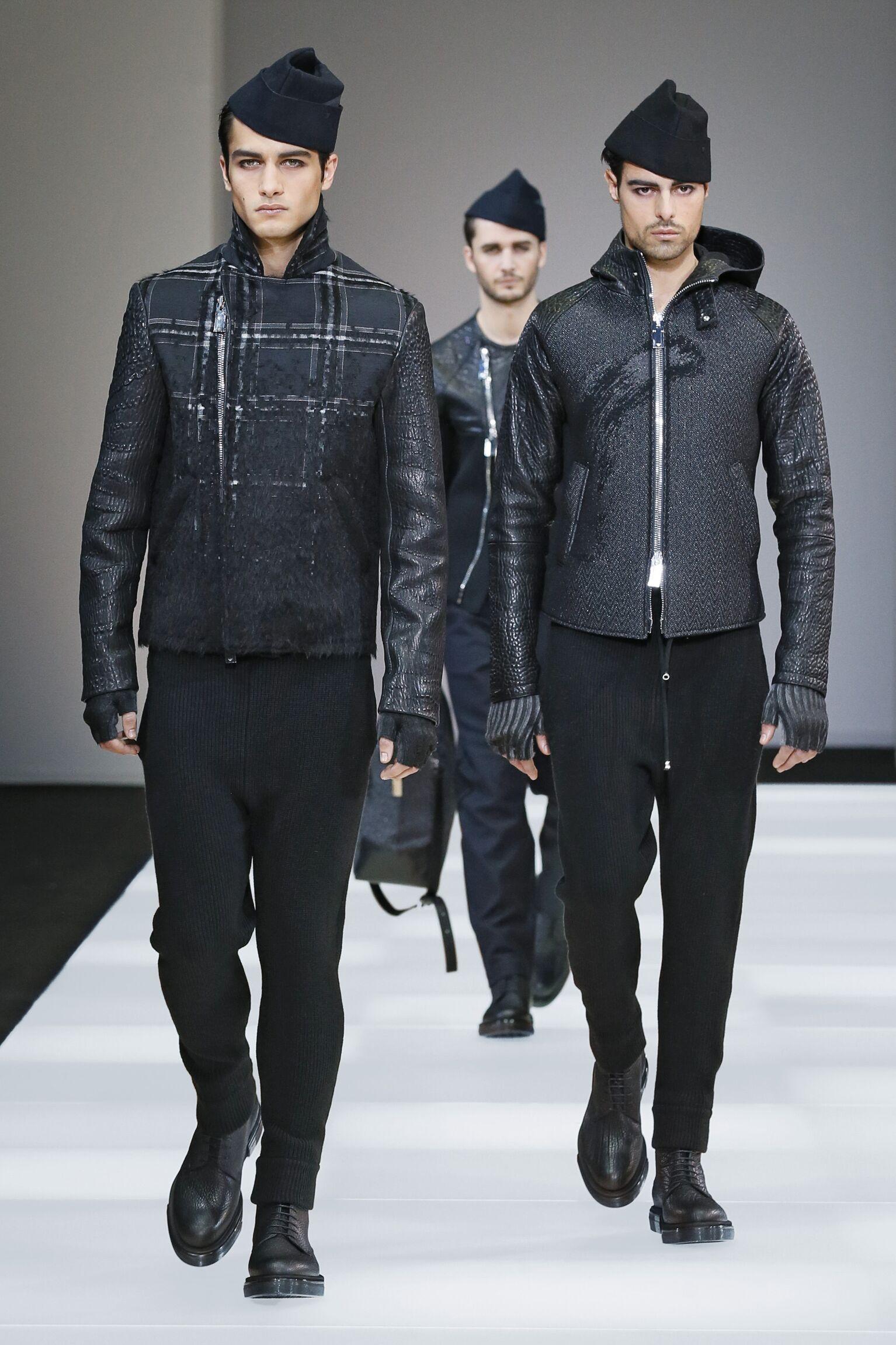 Winter 2015 Fashion Trends Emporio Armani Collection