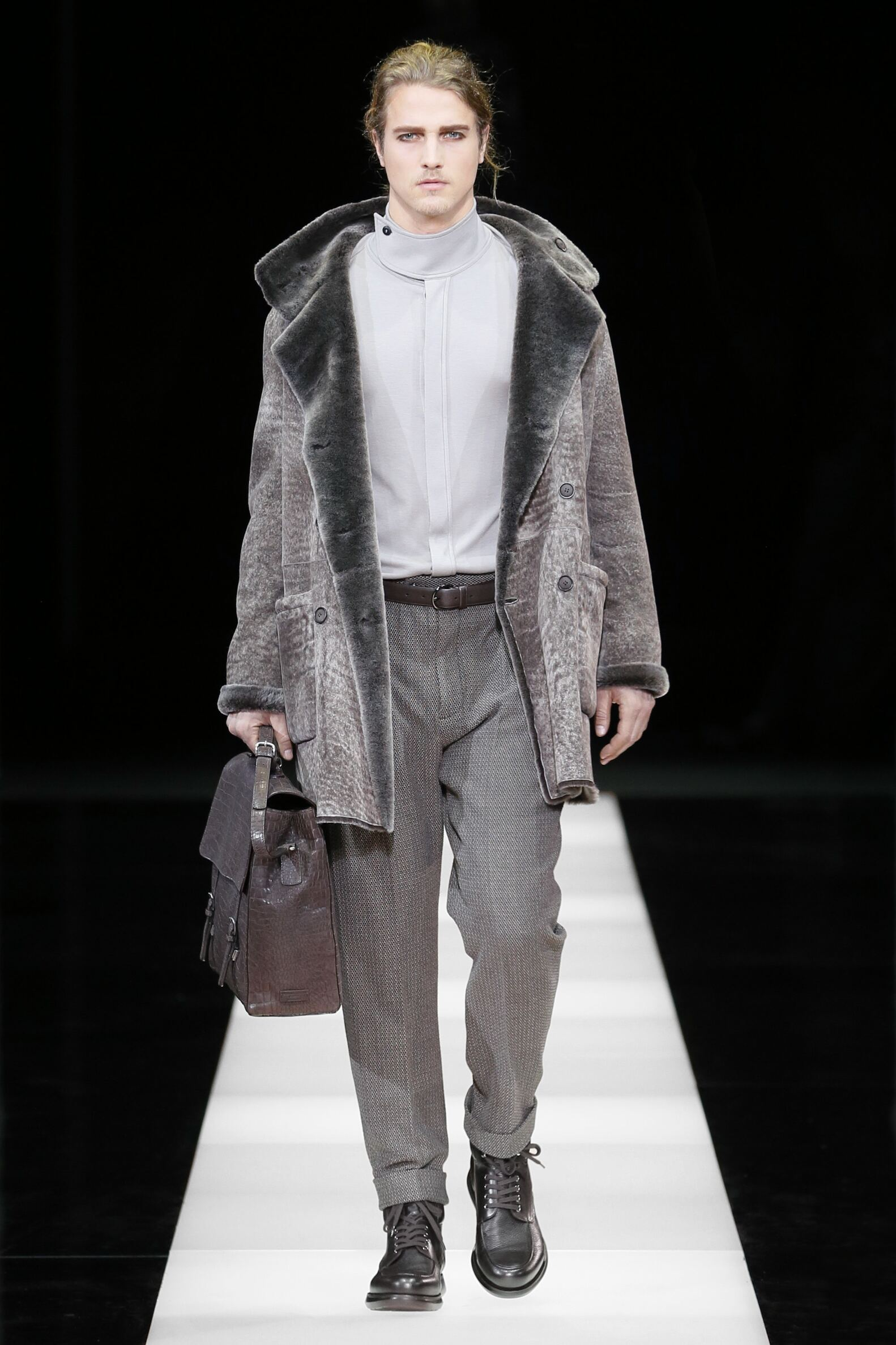 Winter 2015 Fashion Trends Giorgio Armani Collection