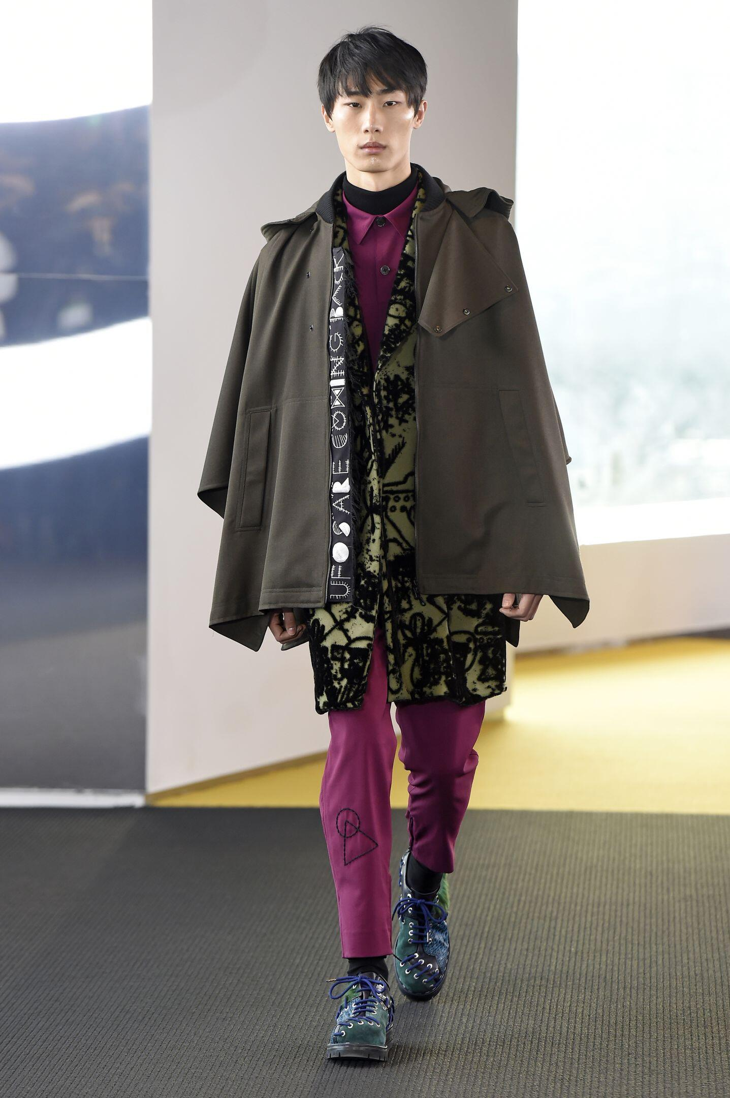 Winter 2015 Fashion Trends Kenzo Collection