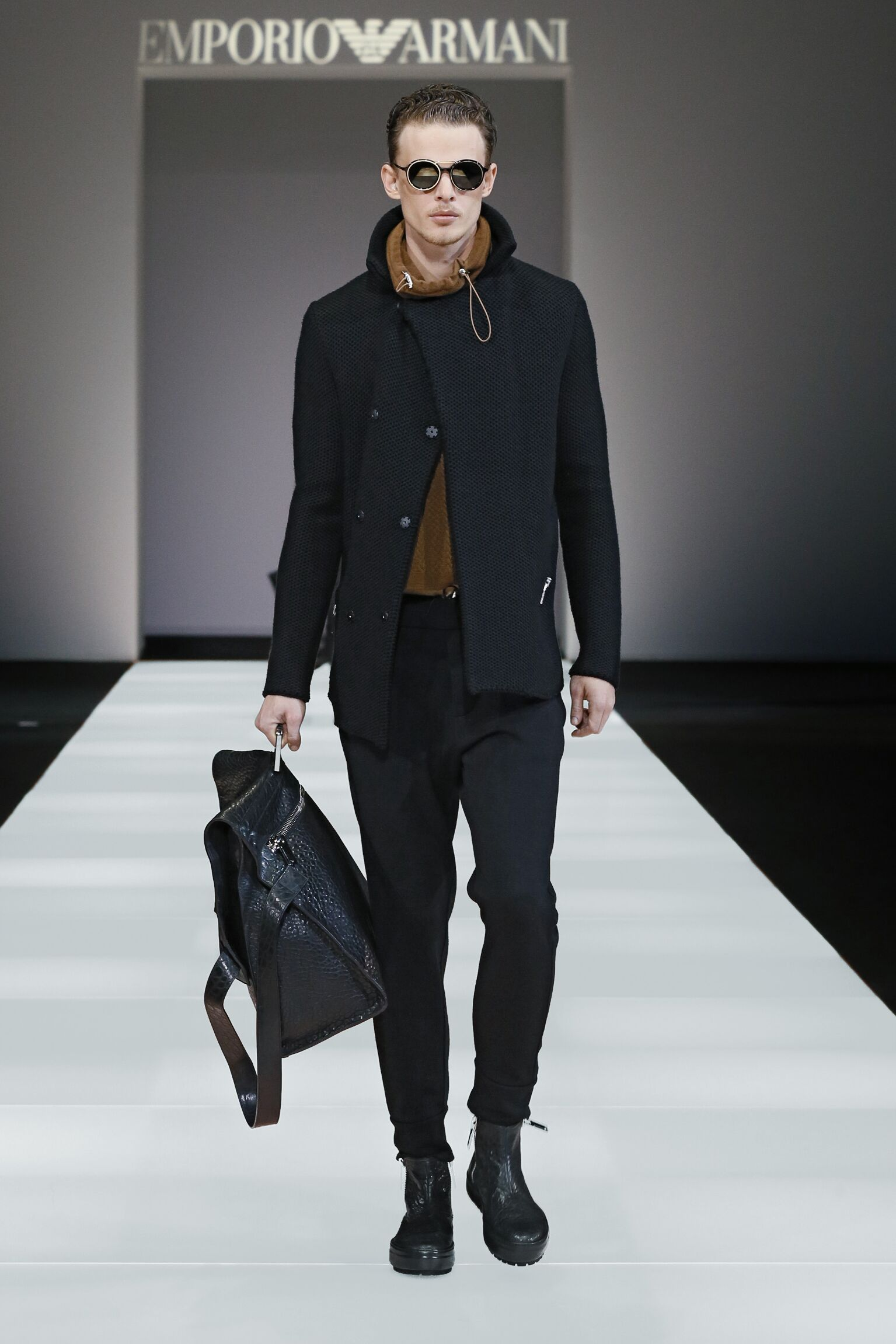 Winter 2015 Man Trends Emporio Armani Collection
