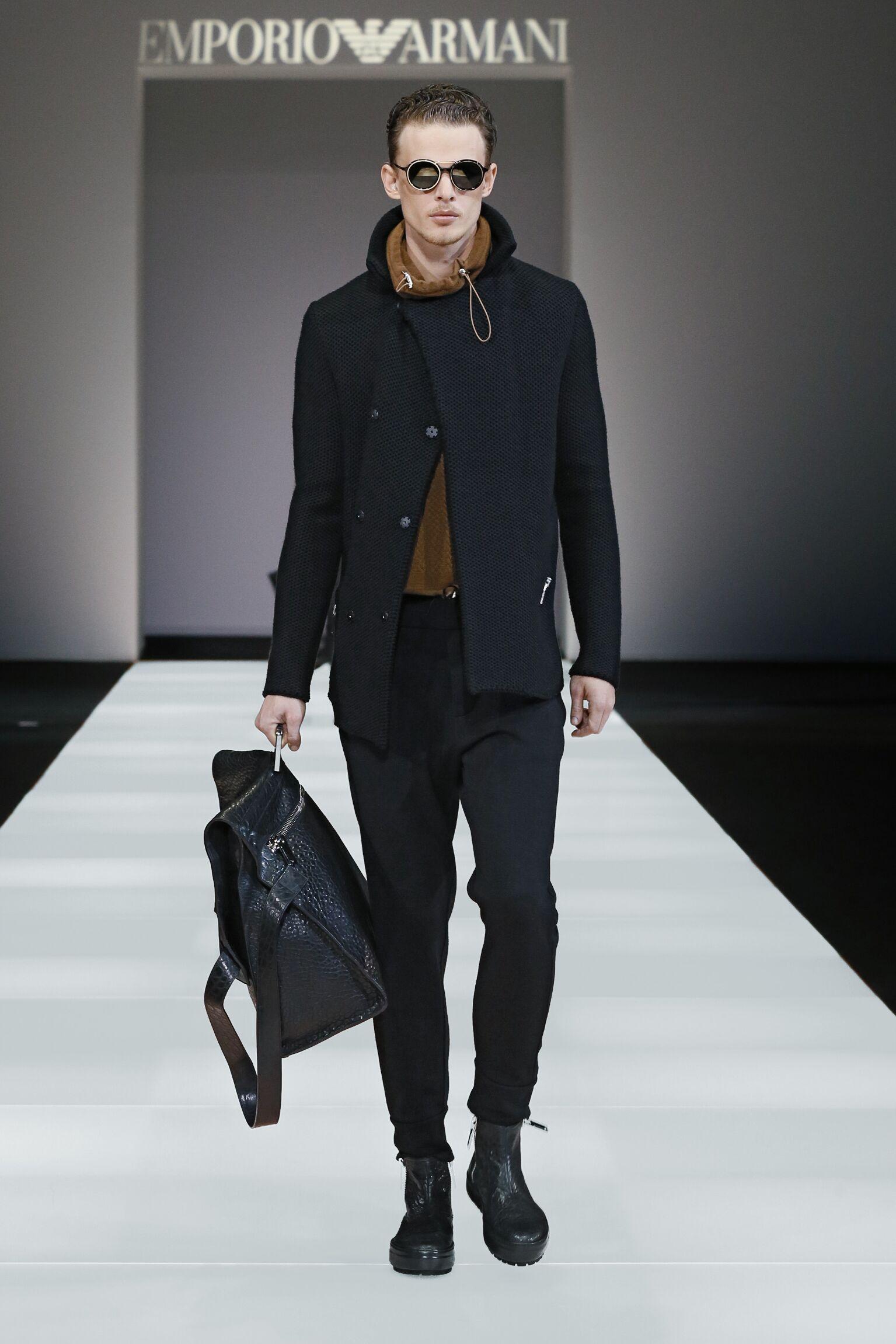 Winter 2015 Man Trends Emporio Armani Collection