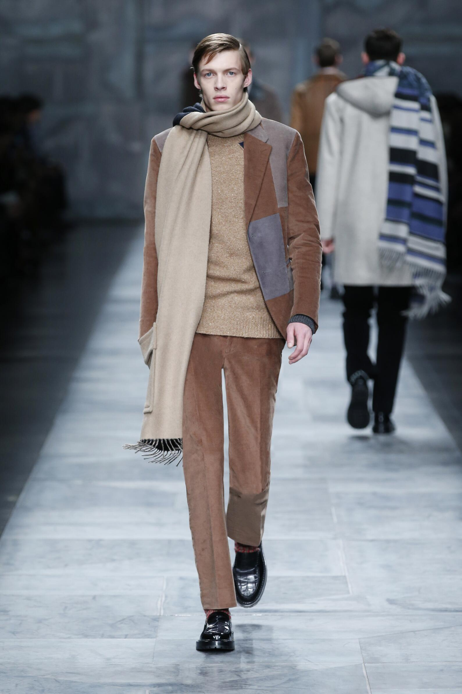 Winter 2015 Man Trends Fendi Collection