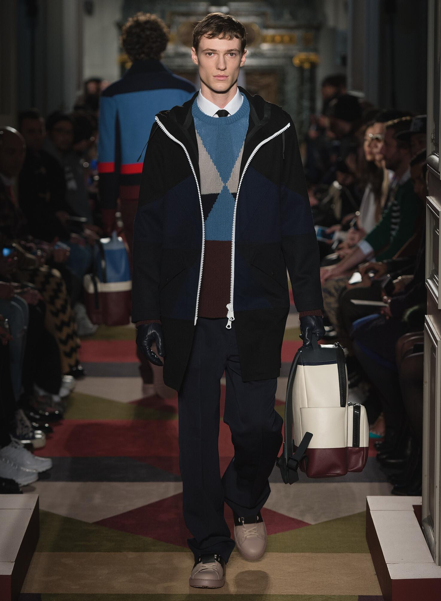 Winter 2015 Man Trends Valentino Collection
