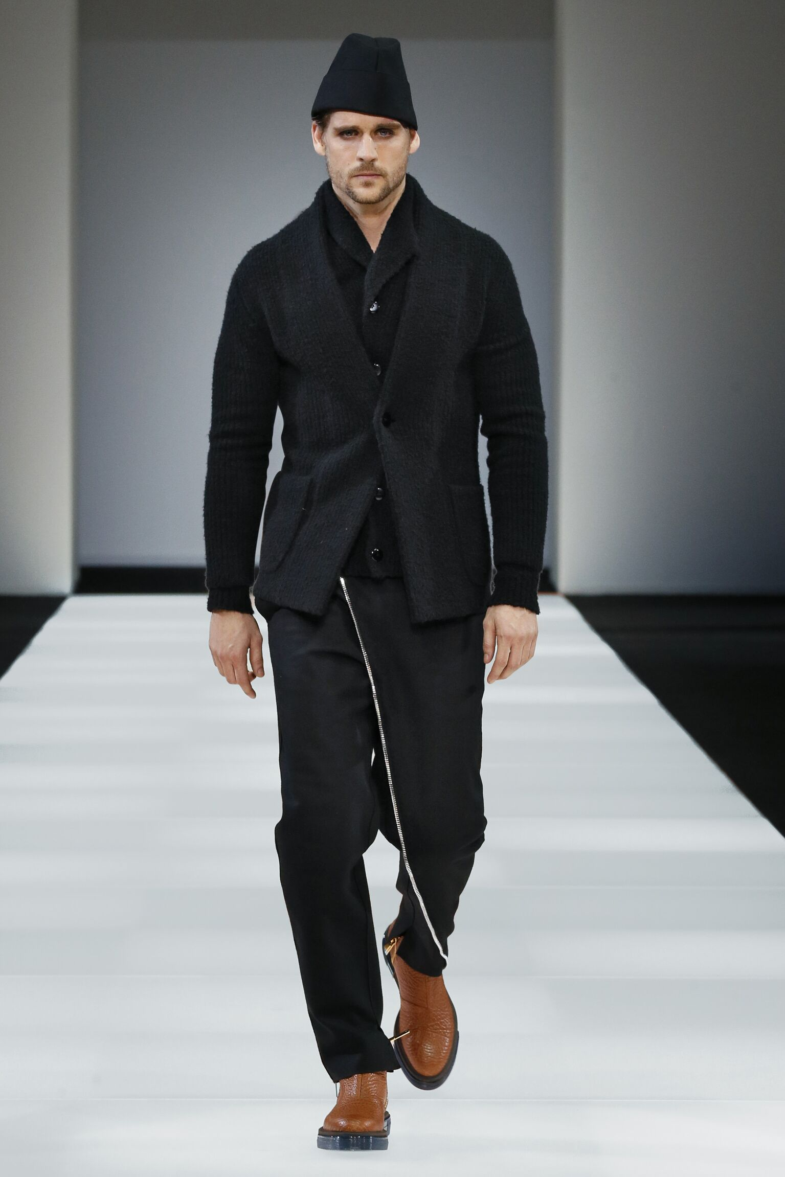Winter 2015 Runway Emporio Armani
